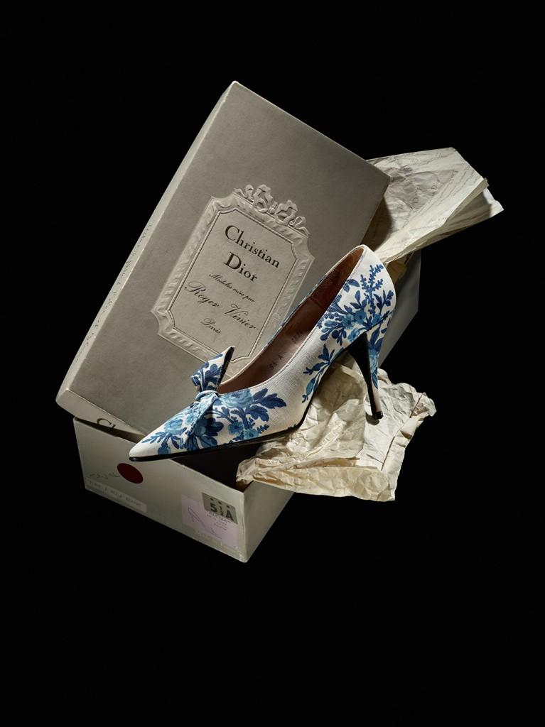 Zapatos 'Versalles', de Roger Vivier para Christian Dior, 1960, de la colección 'Quidam de rêve'.