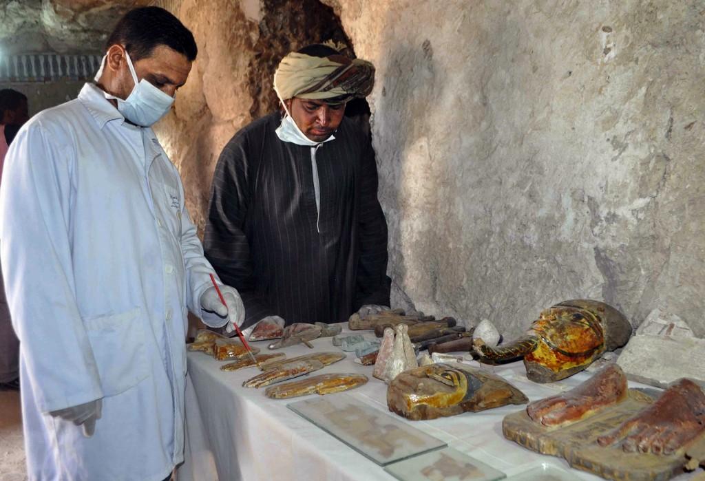 """""""Hay otros fragmentos que indican que podría encontrarse más objetos en el futuro"""", indicaron desde el Ministerio (AFP)"""