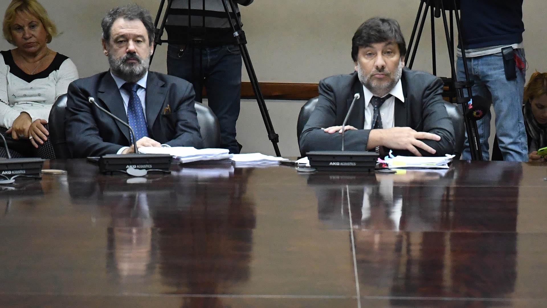 Freiler expuso durante una hora ante la Comisión de Acusación y Disciplina (Télam)