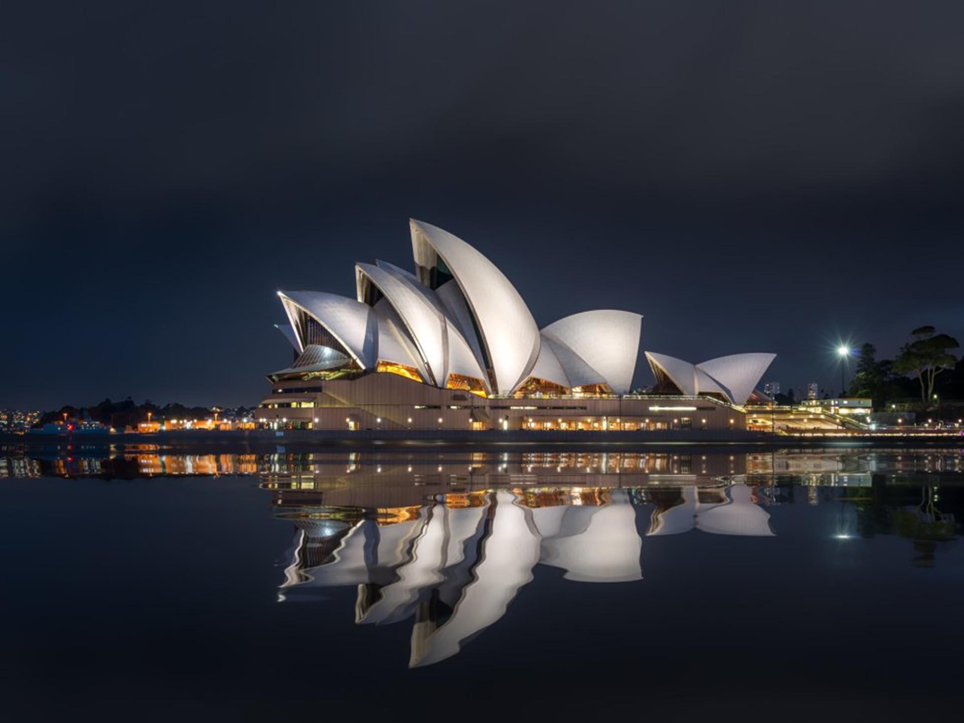 Ópera de Sídney (Australia)