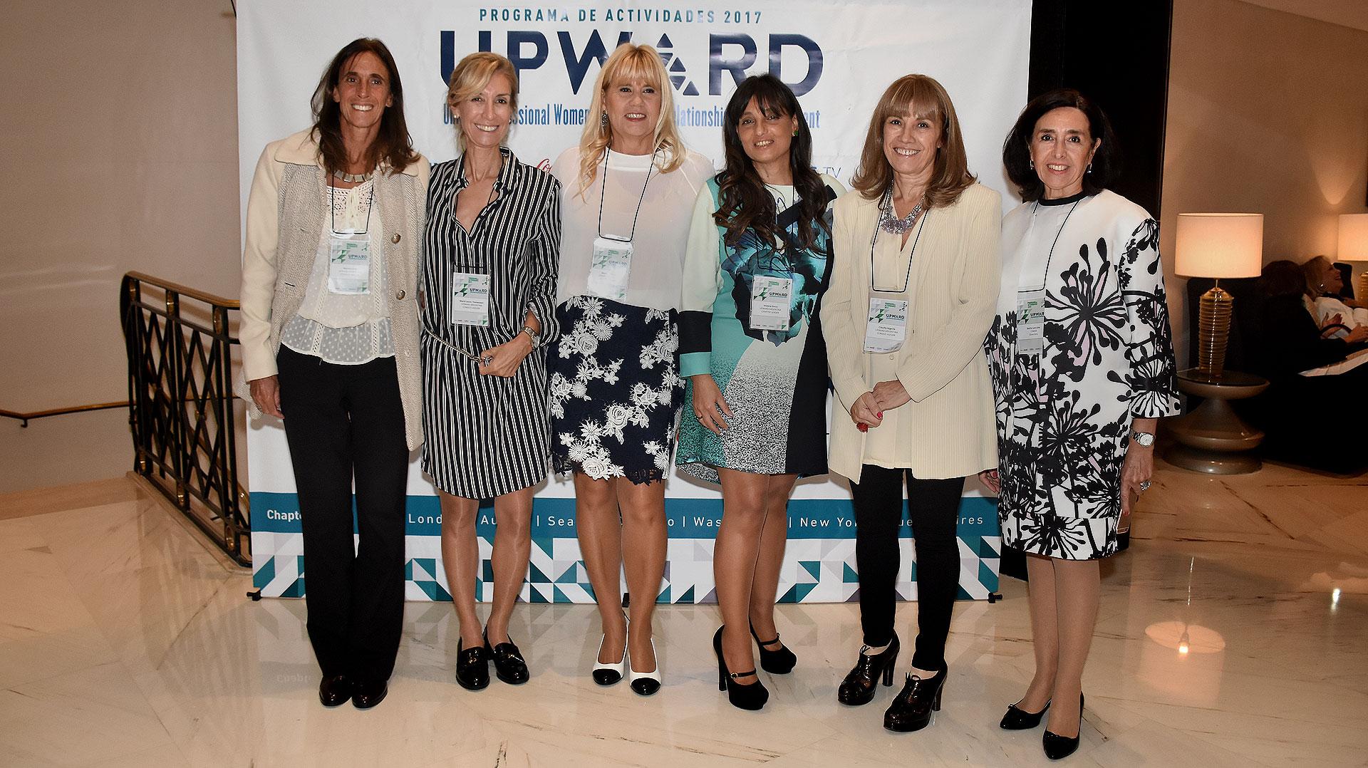 Mariana Feld, María Laura Tramezzani, Marcela Losardo, Viviana Zocco, Claudia Segovia y Stella Lancuba