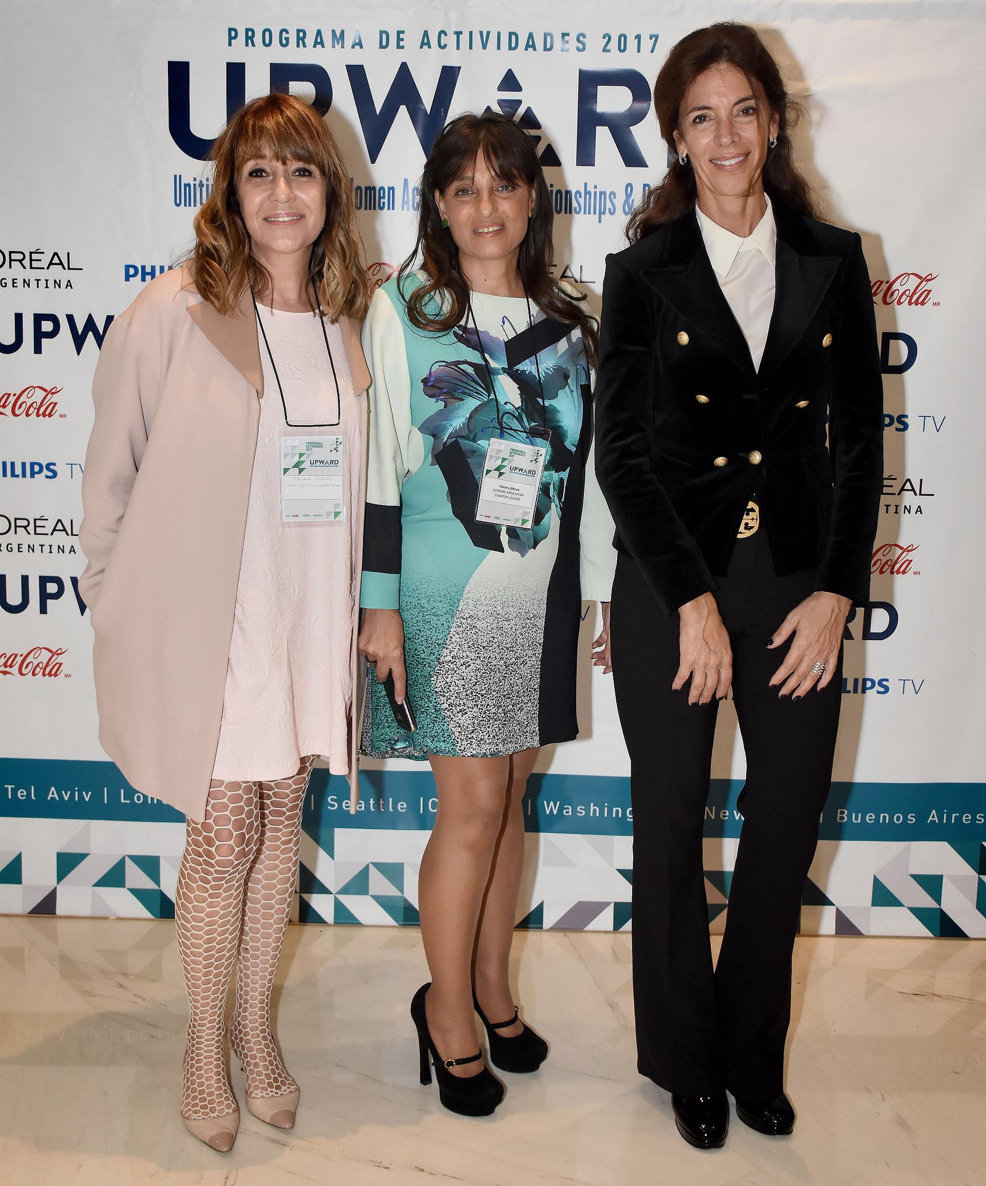 Fabiana Ricagno, Viviana Zocco y Laura Guerra
