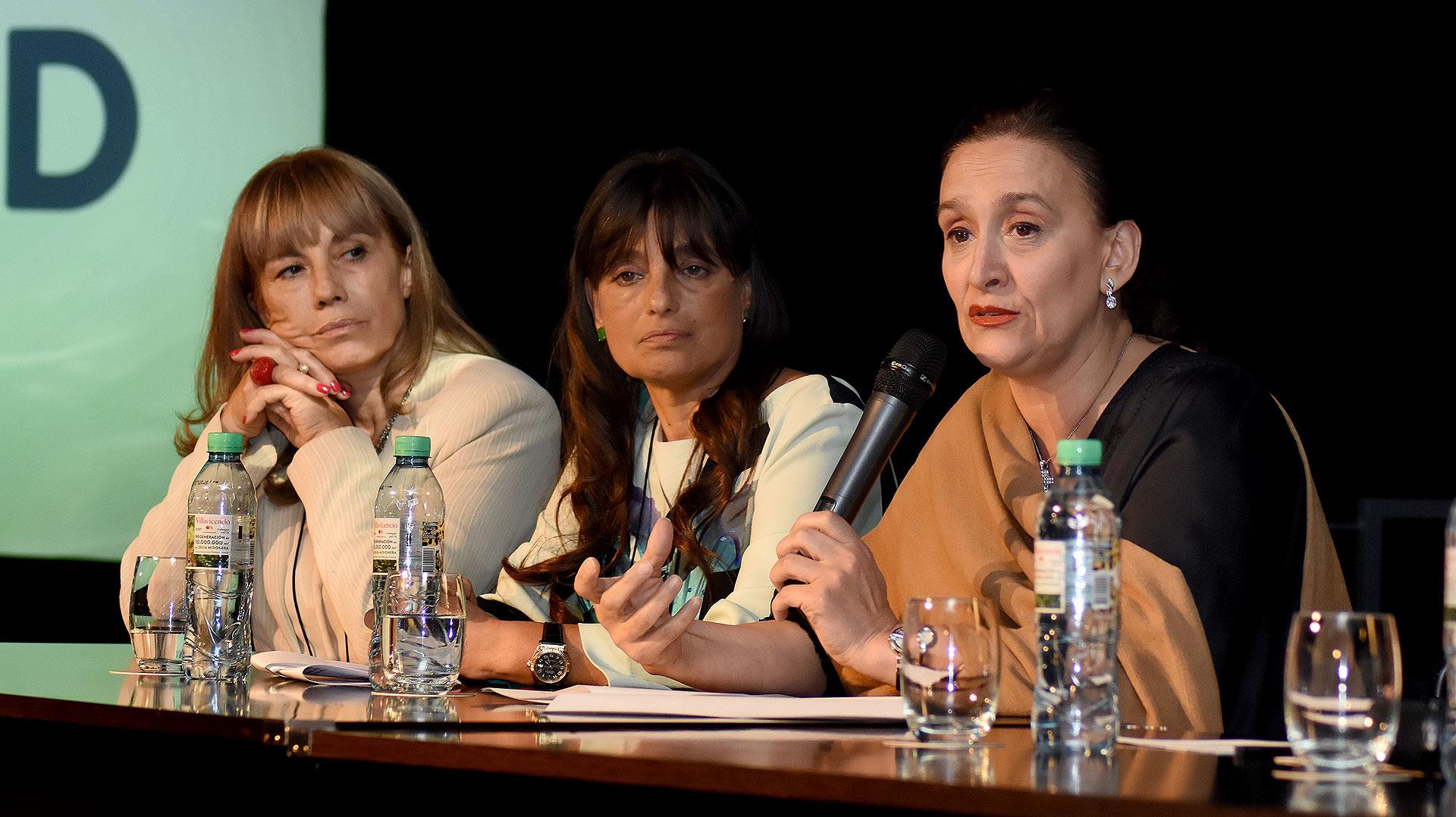 Las palabras de apertura estuvieron a cargo de la Vicepresidente, Gabriela Michetti