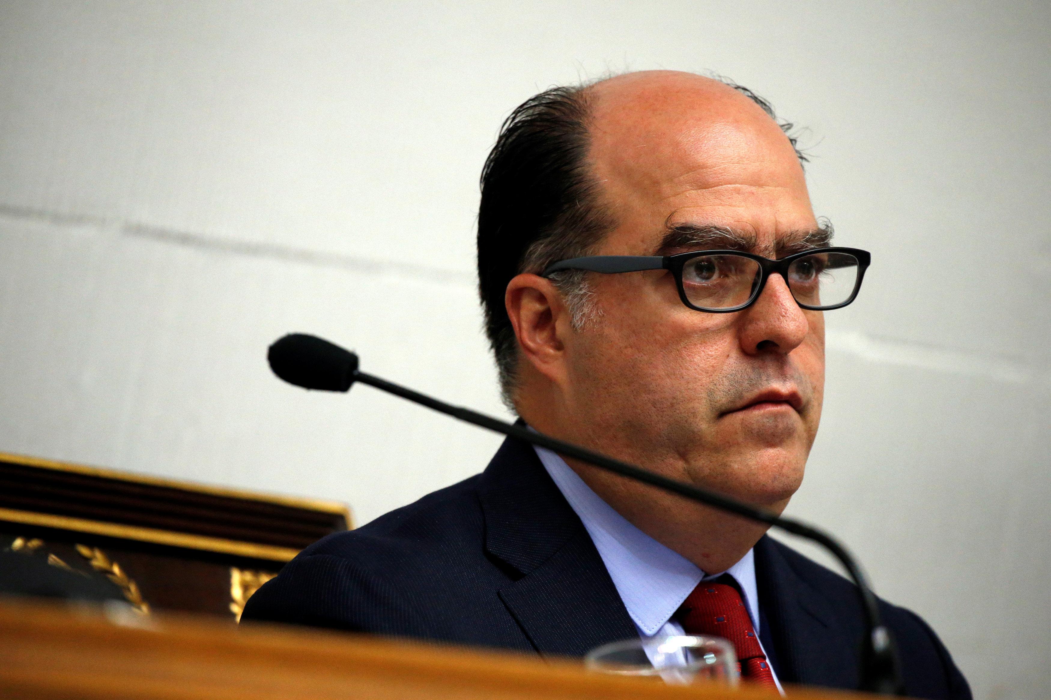 El presidente de la Asamblea Nacional venezolana, Julio Borges (Reuters)