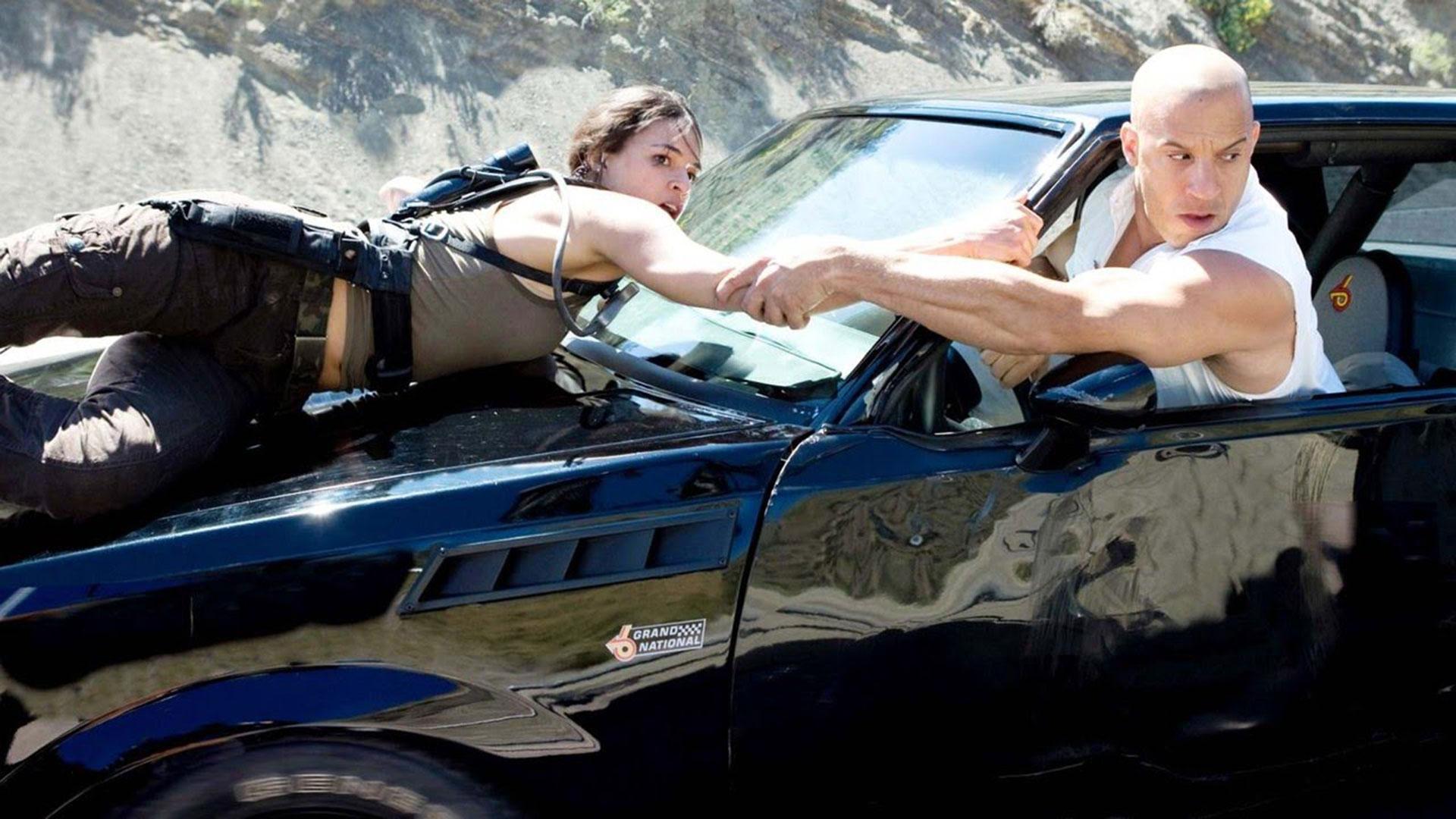 fotograma de la película Rápidos y Furiosos
