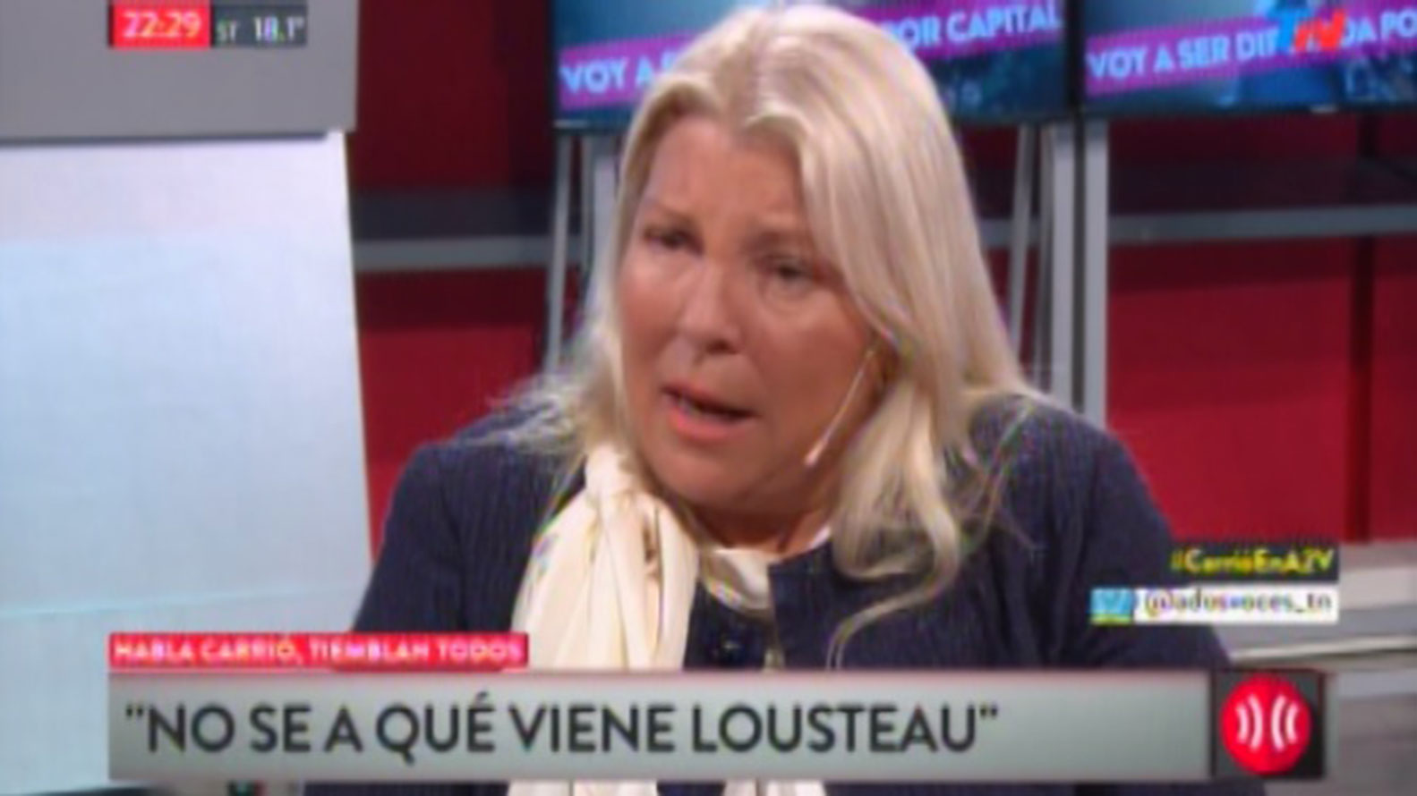 Carrió rechazó conformar una interna entre ella y Lousteau en Cambiemos