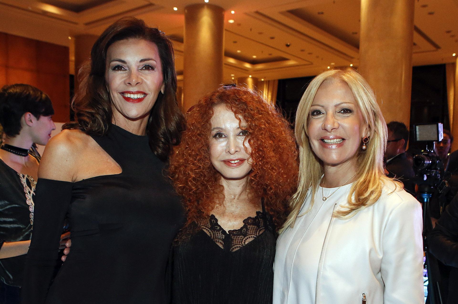 Fabiana Araujo, Maureene Dinar y Susana Roccasalvo