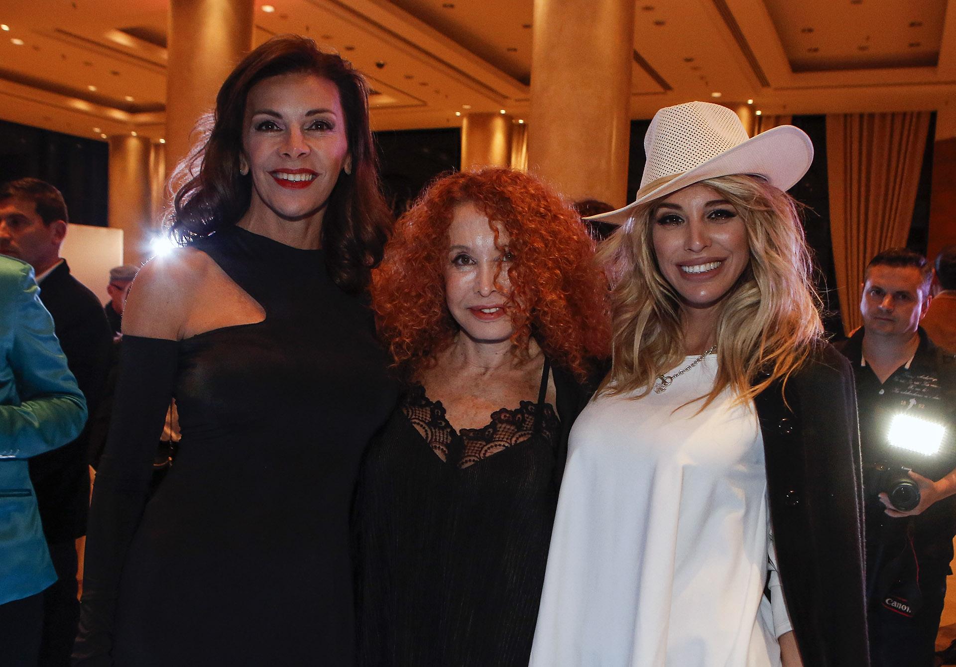 Fabiana Araujo, Maureene Dinar y Stefanía Xipolitakis