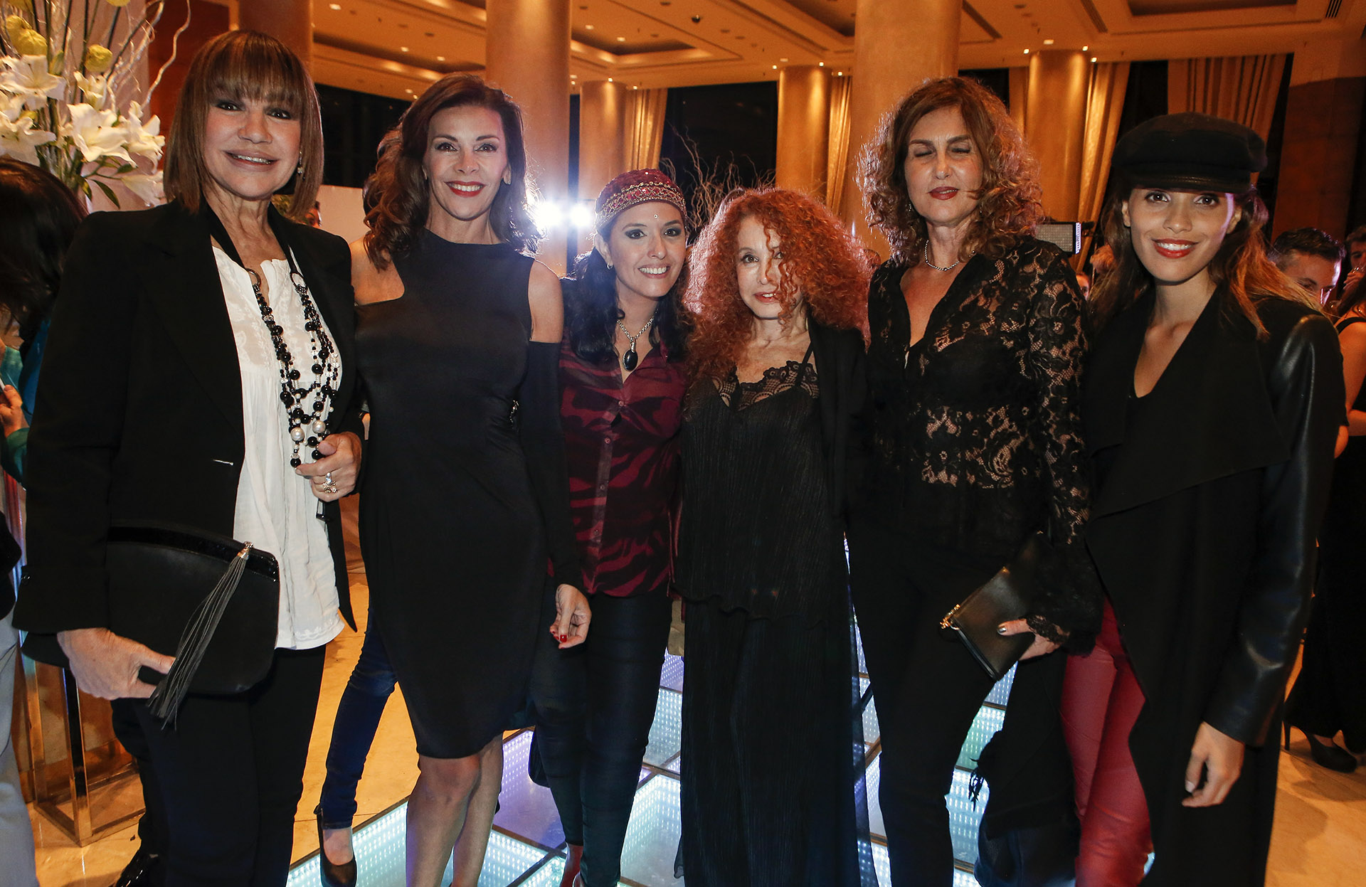 Mora Furtado, Fabiana Araujo, Jimena La Torre, Maureene Dinar, Susana Milano y Taina Laurino Ferreira