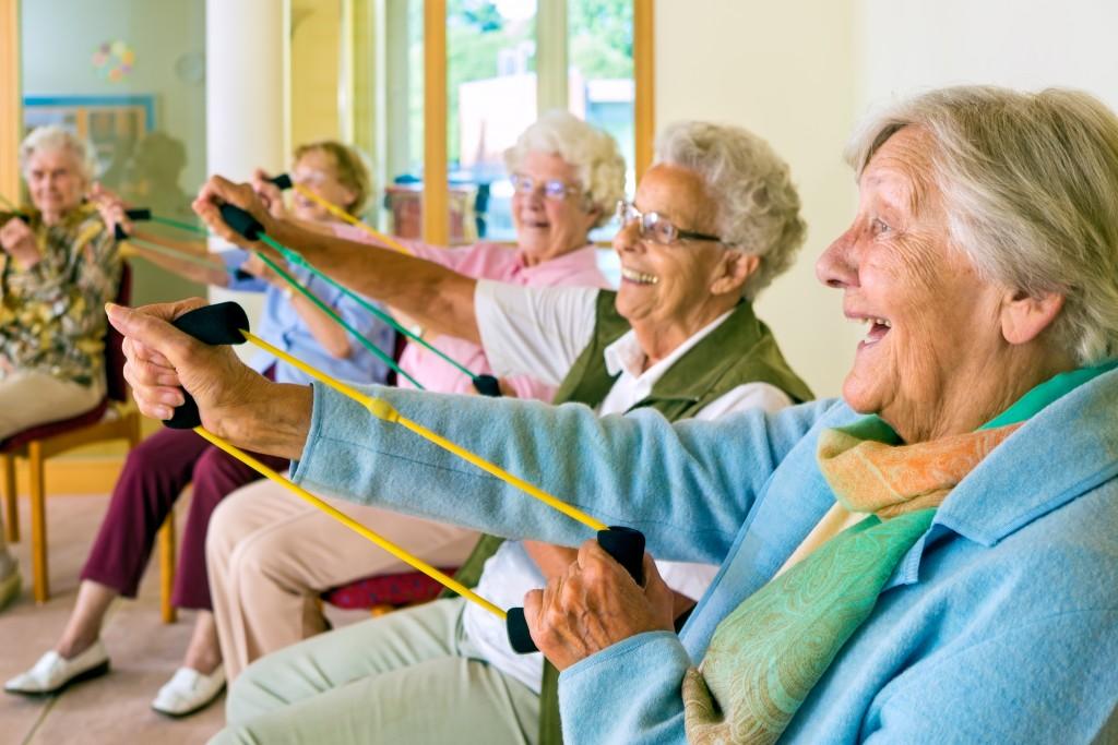 Los ejercicios de resistencia son muy útiles para no perder músculo (iStock)