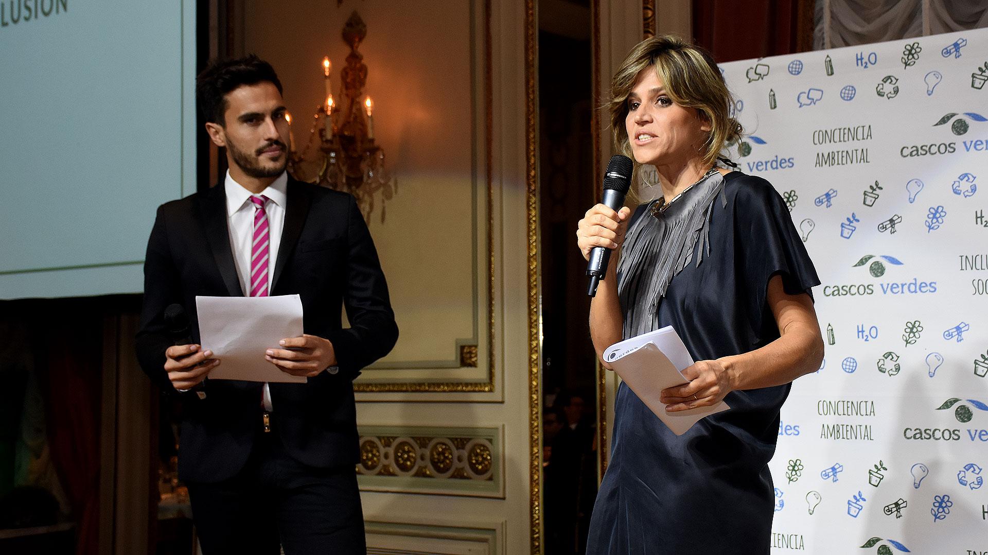 Juan Marconi y María Freytes, los conductores del evento /// Fotos: Nicolás Stulberg