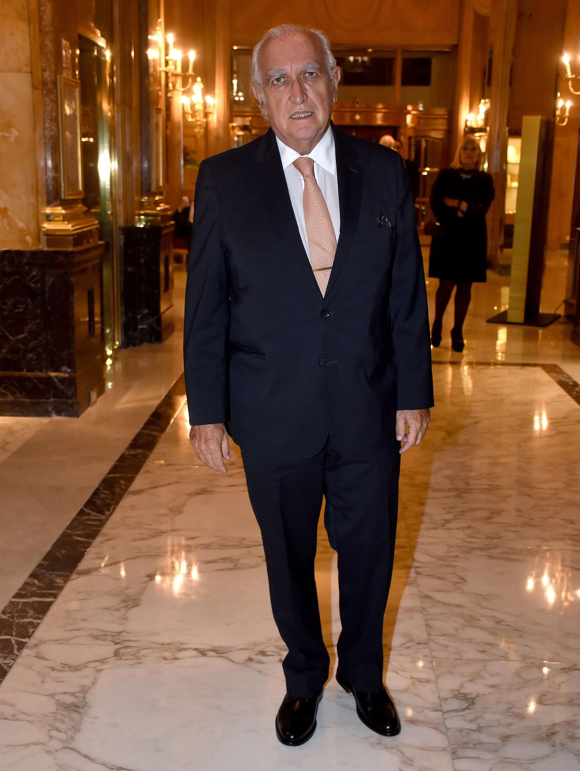 El coordinador general de Justicia 2020, Ricardo Gil Lavedra