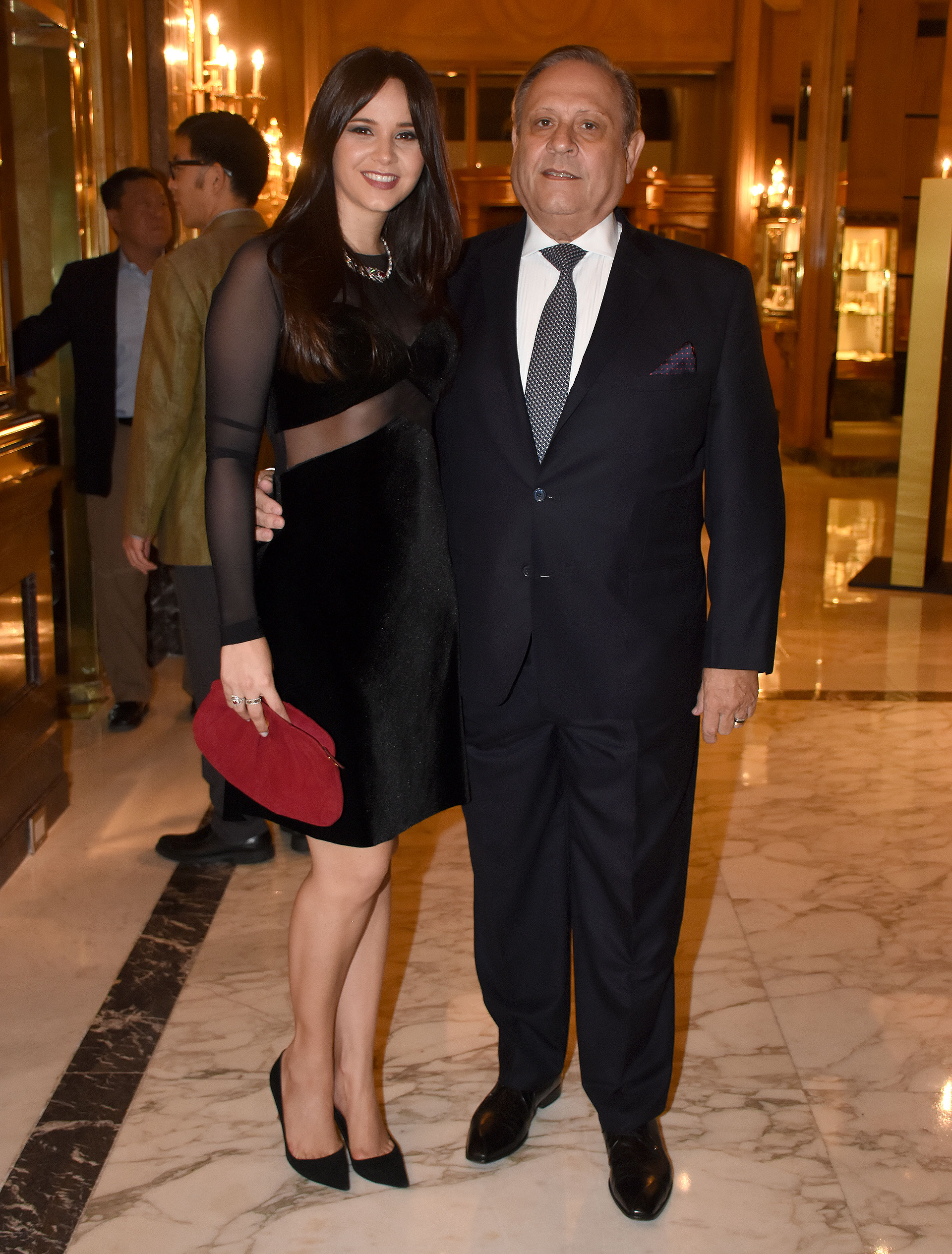 Néstor Abatidaga, director general corporativo del Grupo Sancor Seguros, y su mujer, la conductora de televisión y directora creativa, Natalí Márquez