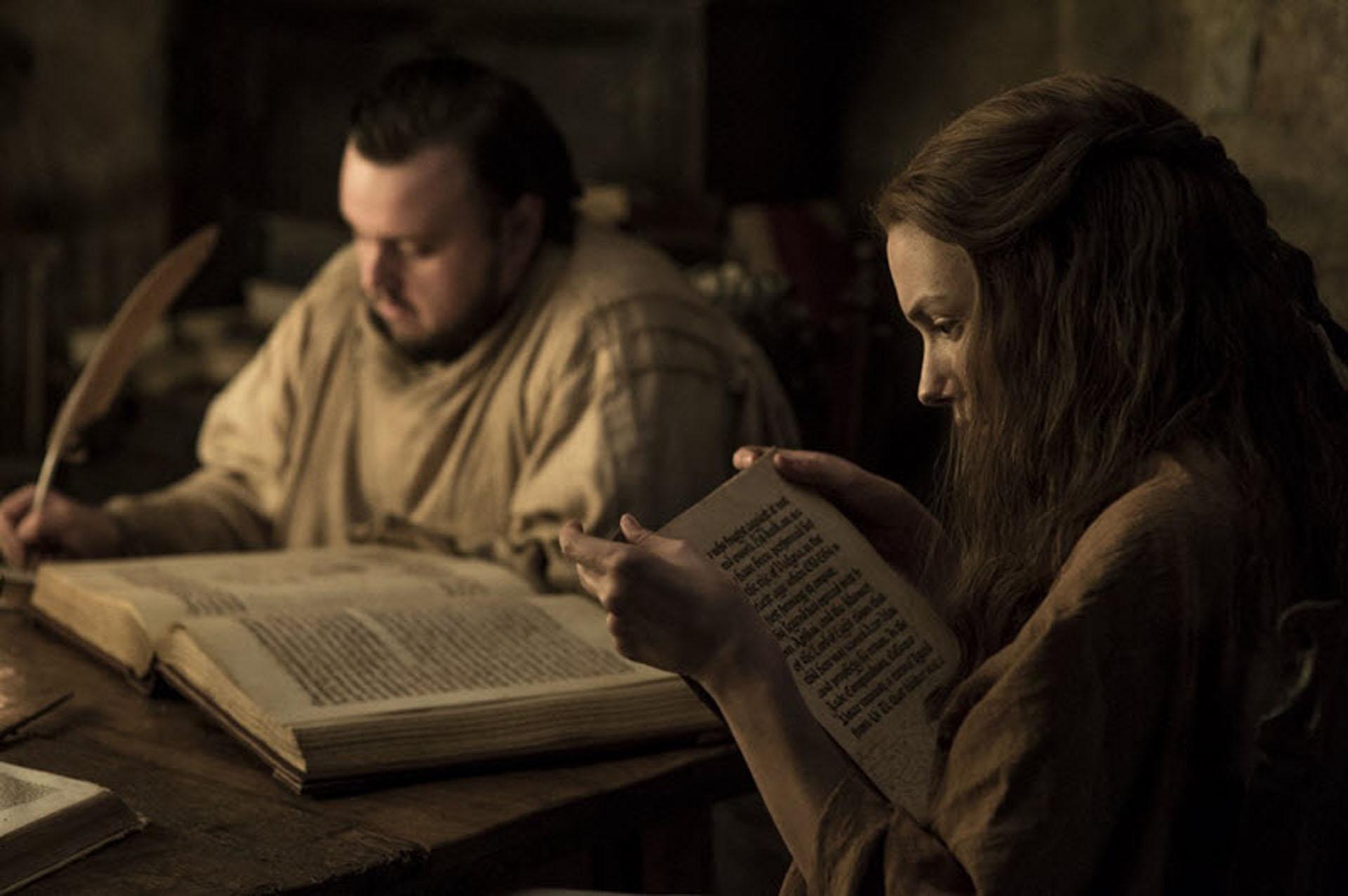 Escena de la séptima temporada de Jon Snow Game of Thrones