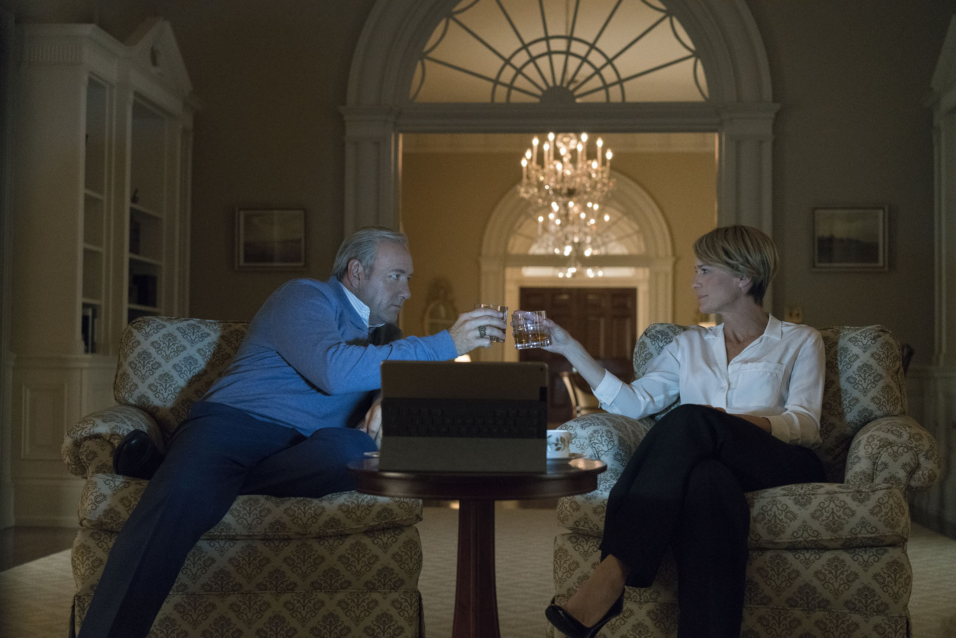 Frank y Claire Underwood (House Of Cards)