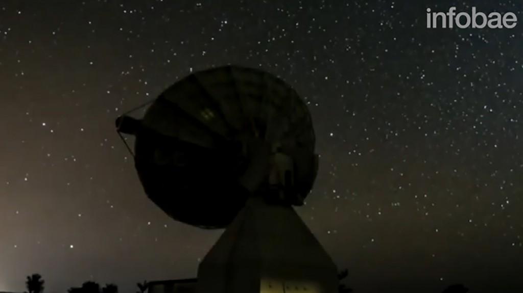 La antena será clave para recibir la información de satélites que buscan catalogar millones de estrellas