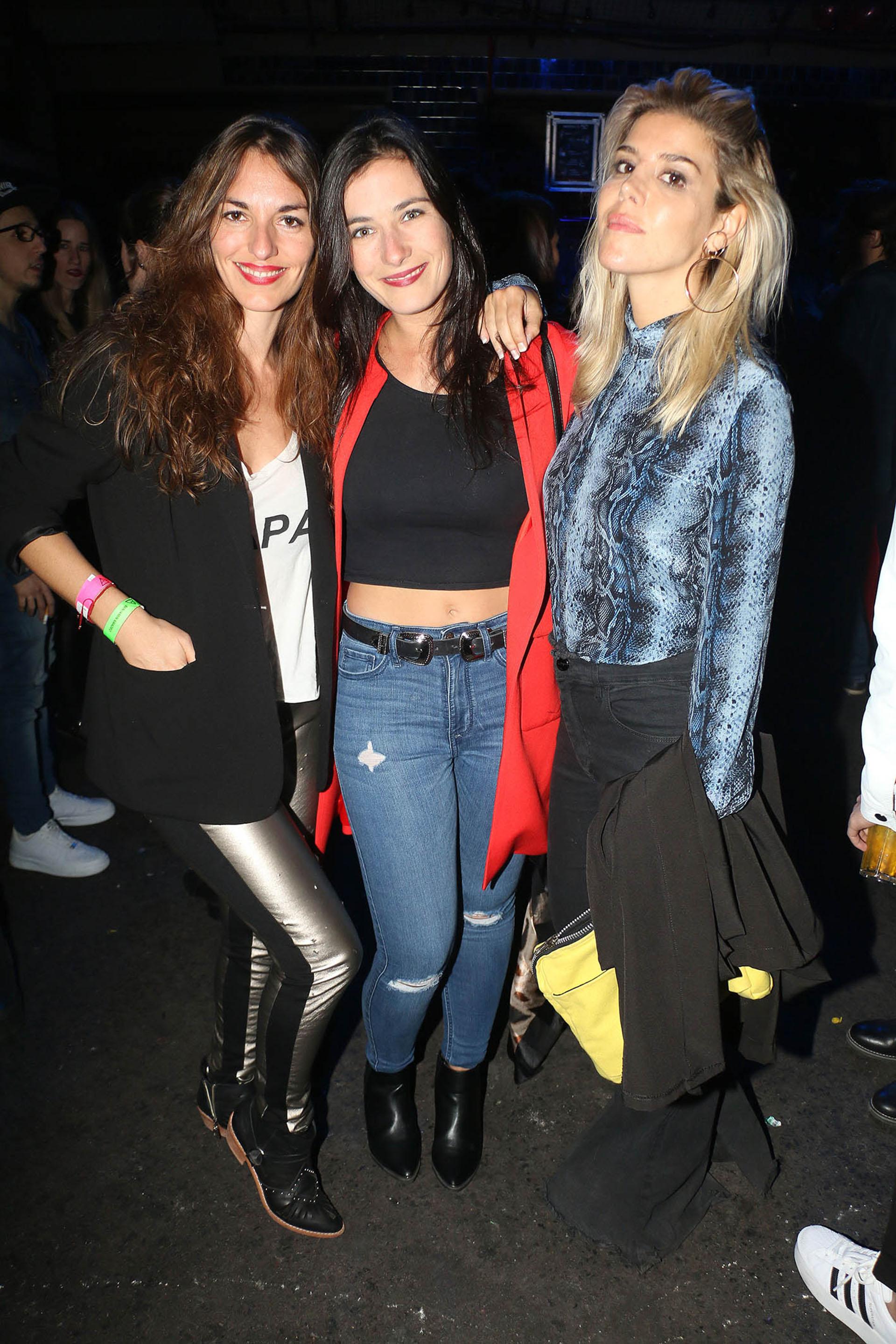 Erika, Daniela y Denise