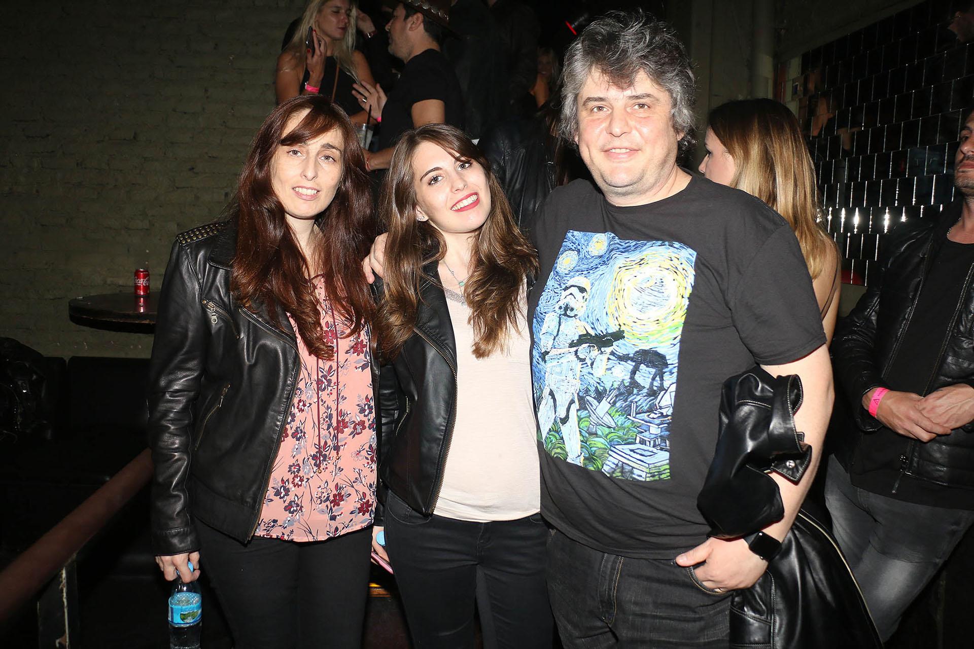 Gabriel Schultz, es muy amigo de Benjamín Amadeo y no quiso perderse su show