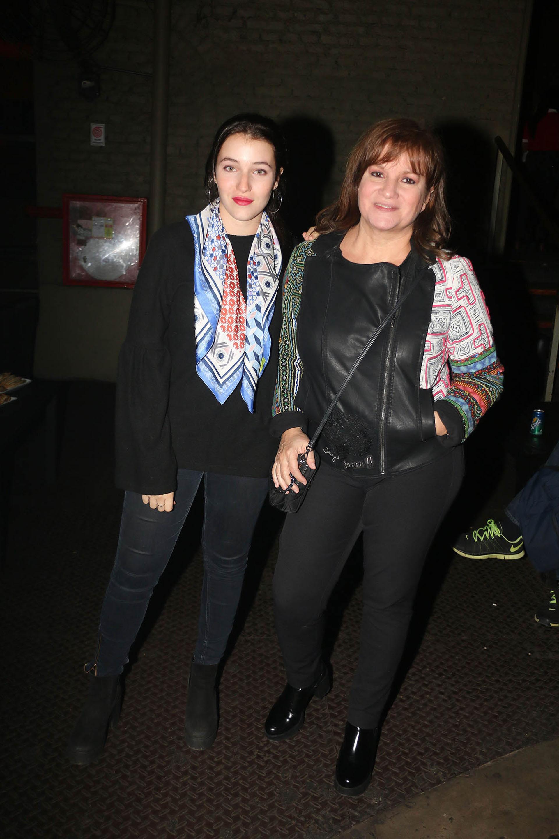 Lucia Galán y su hija Rocío