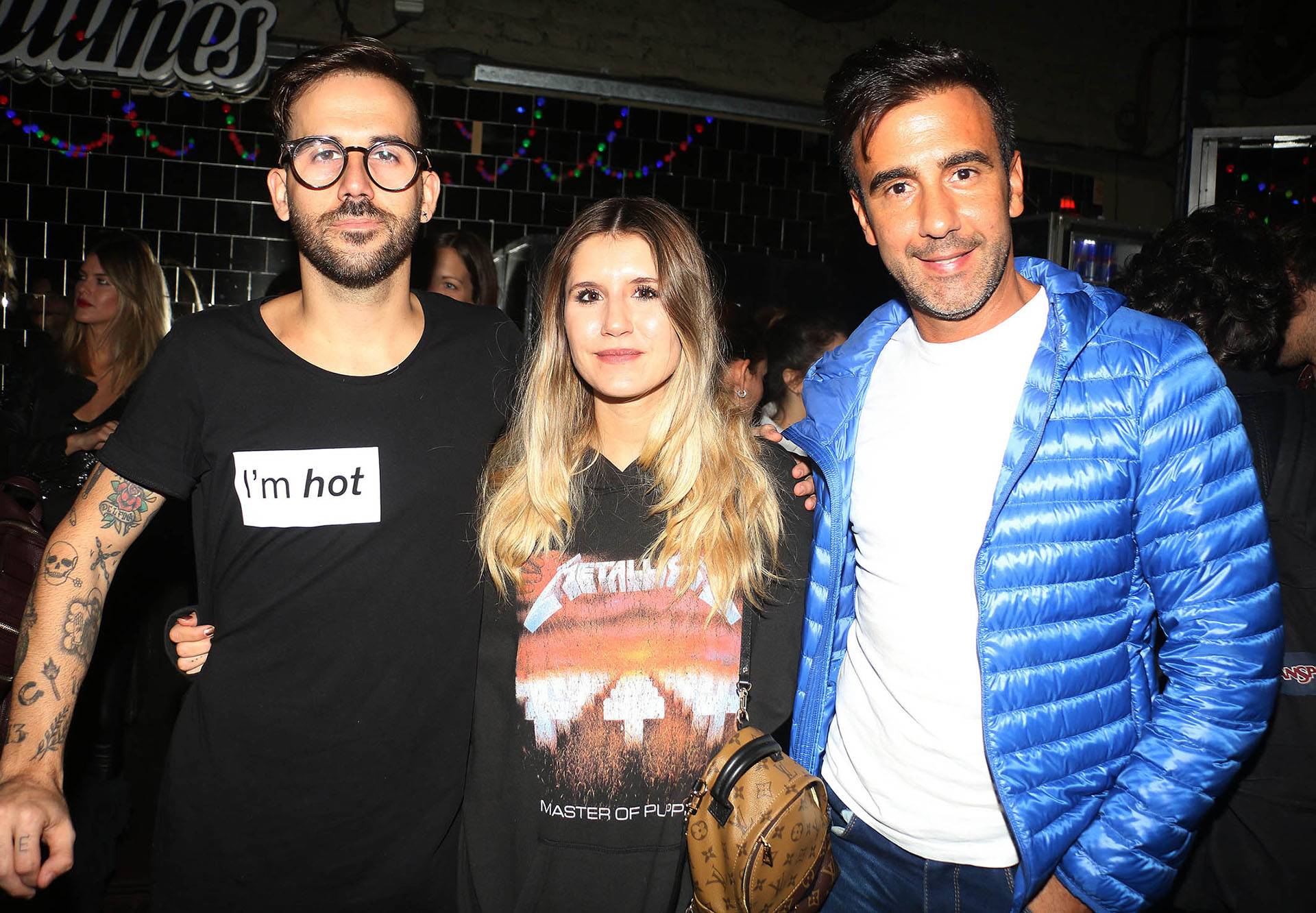 Nacho Lecouna, Micaela Tinelli y Federico Hoppe