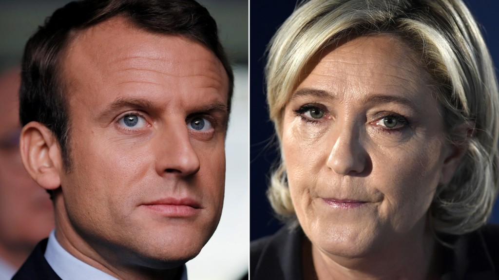 Emmanuel Macron y Marine Le Pen se medirán en el ballotage