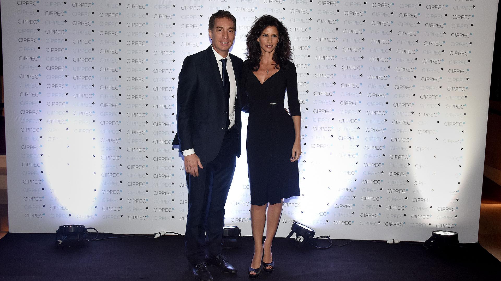 El vicejefe de Gobierno porteño, Diego Santilli, y su mujer Analía Maiorana