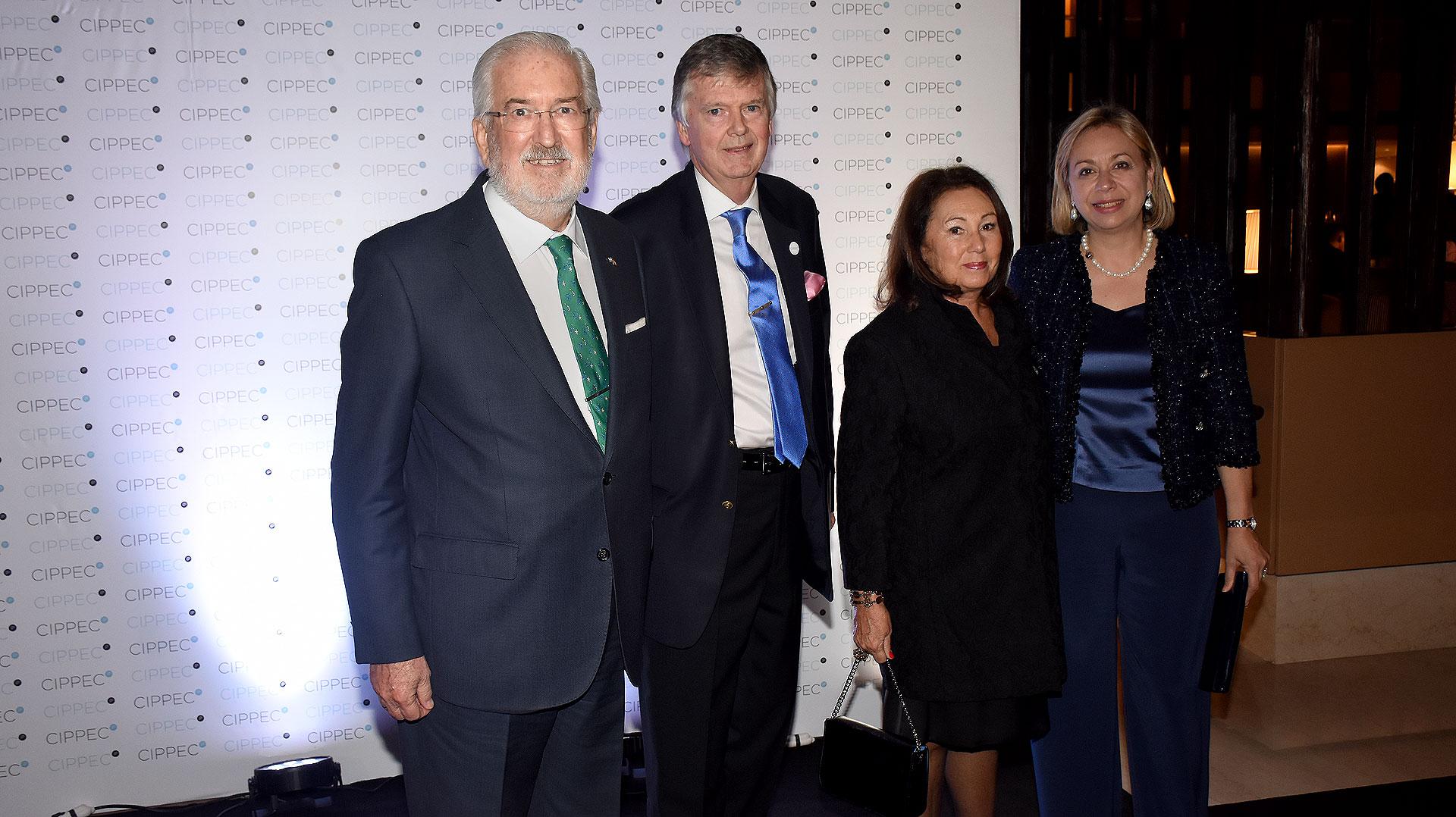 El embajador de España en Argentina, Estanislao de Grandes Pascual, y Guillermo Stanley
