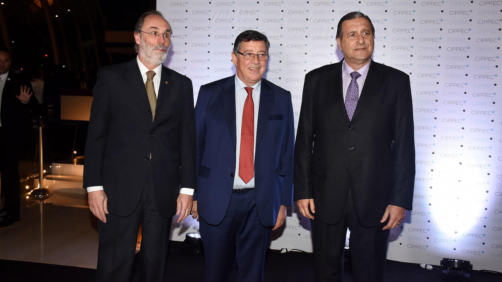 El diputado Pablo Tonelli y el senador Ángel Rozas