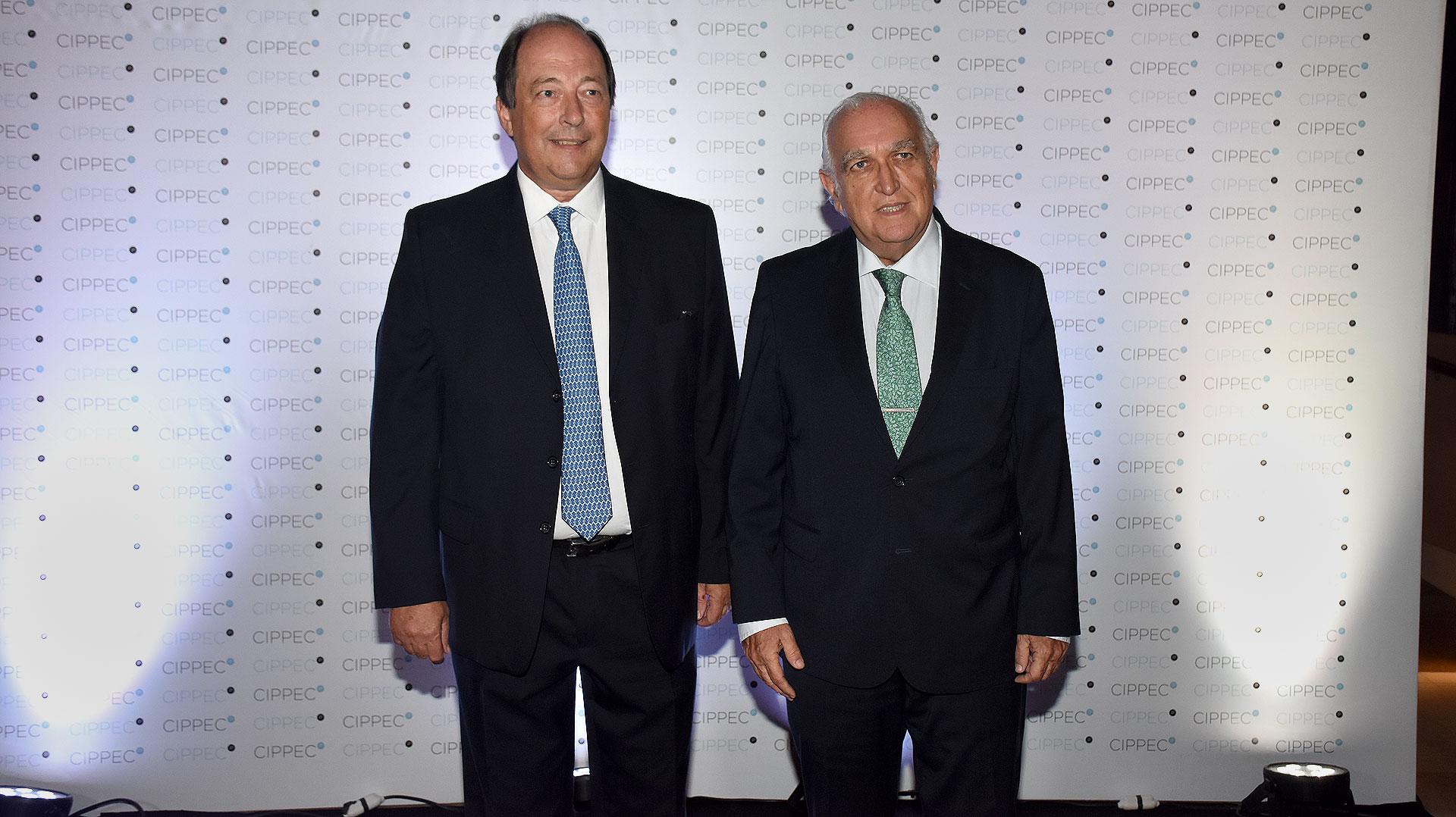 Ernesto Sanz y Ricardo Gil Lavedra