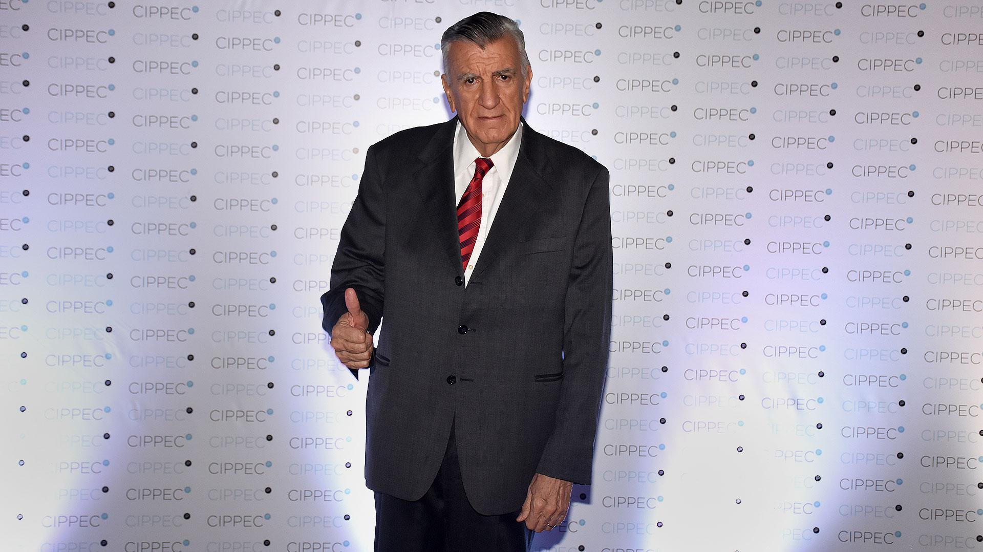 El presidente del PJ, José Luis Gioja