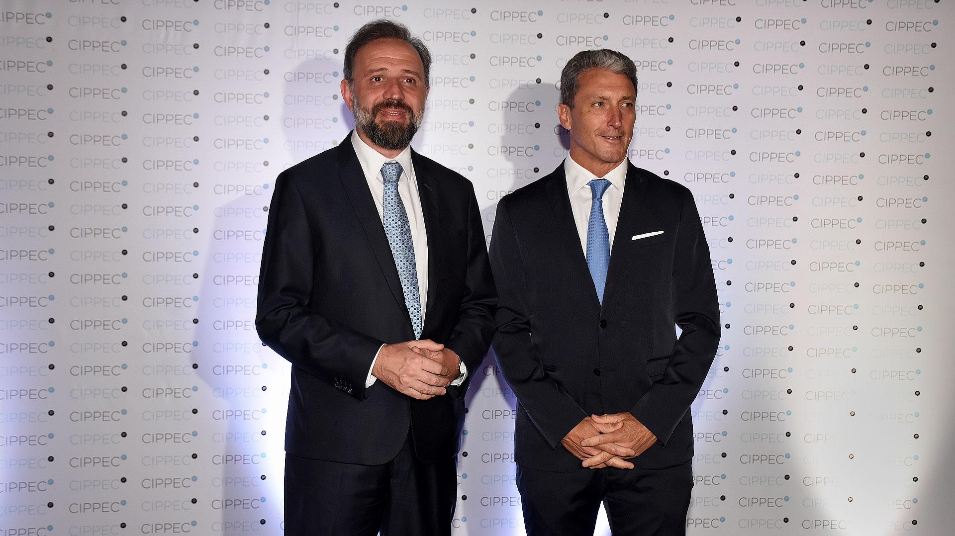 Gustavo Marangoni y José Scioli