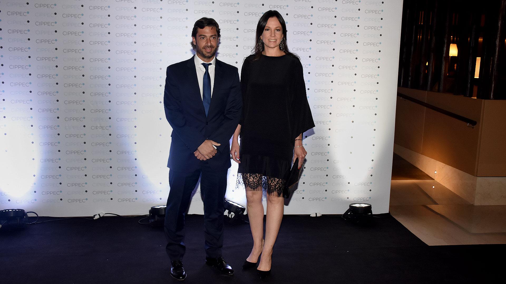 Federico Salvai, jefe de Gabinete de Ministros de la provincia de Buenos Aires, y Carolina Stanley, ministra de Desarrollo Social