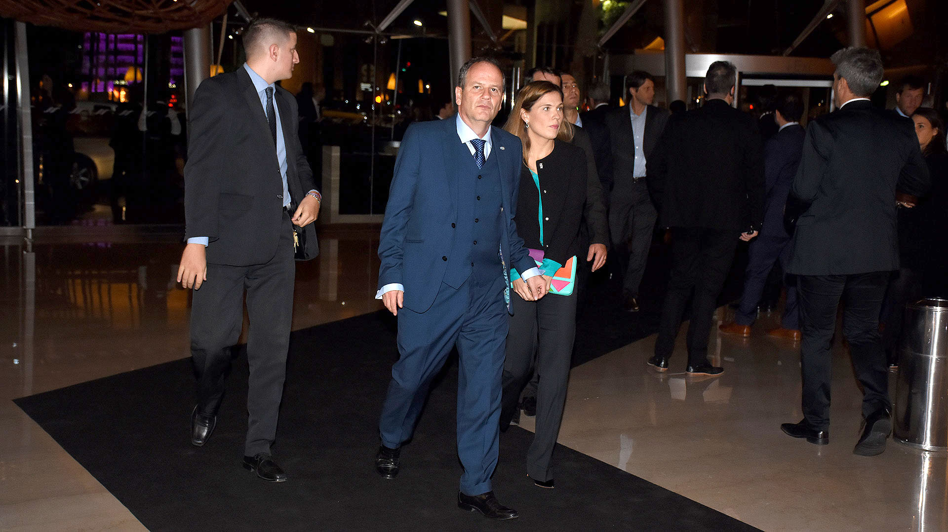 Ilan Sztulman, embajador de Israel en la Argentina, y su esposa Jaqueline Sztulman