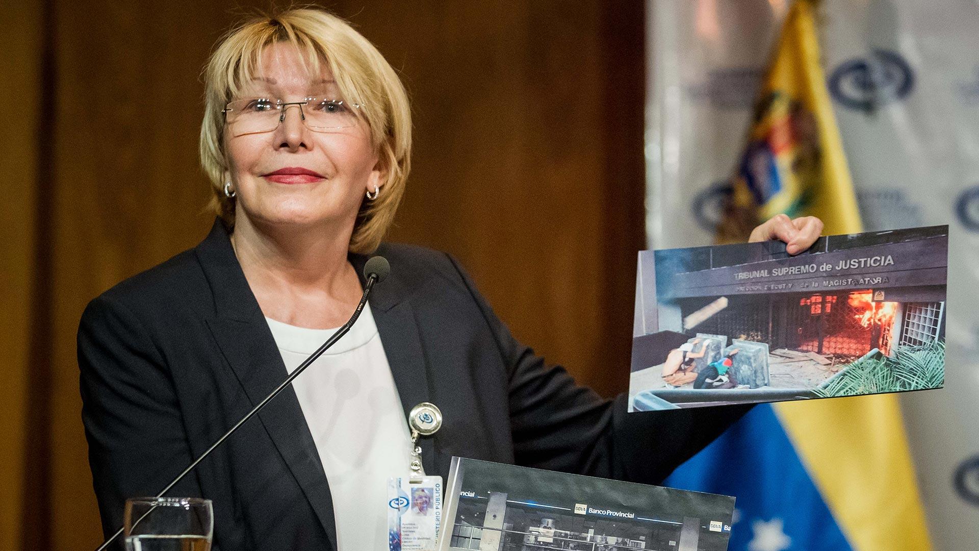 Luisa Ortega Diaz fue destituida por la Asamblea Constituyente chavista (EFE)