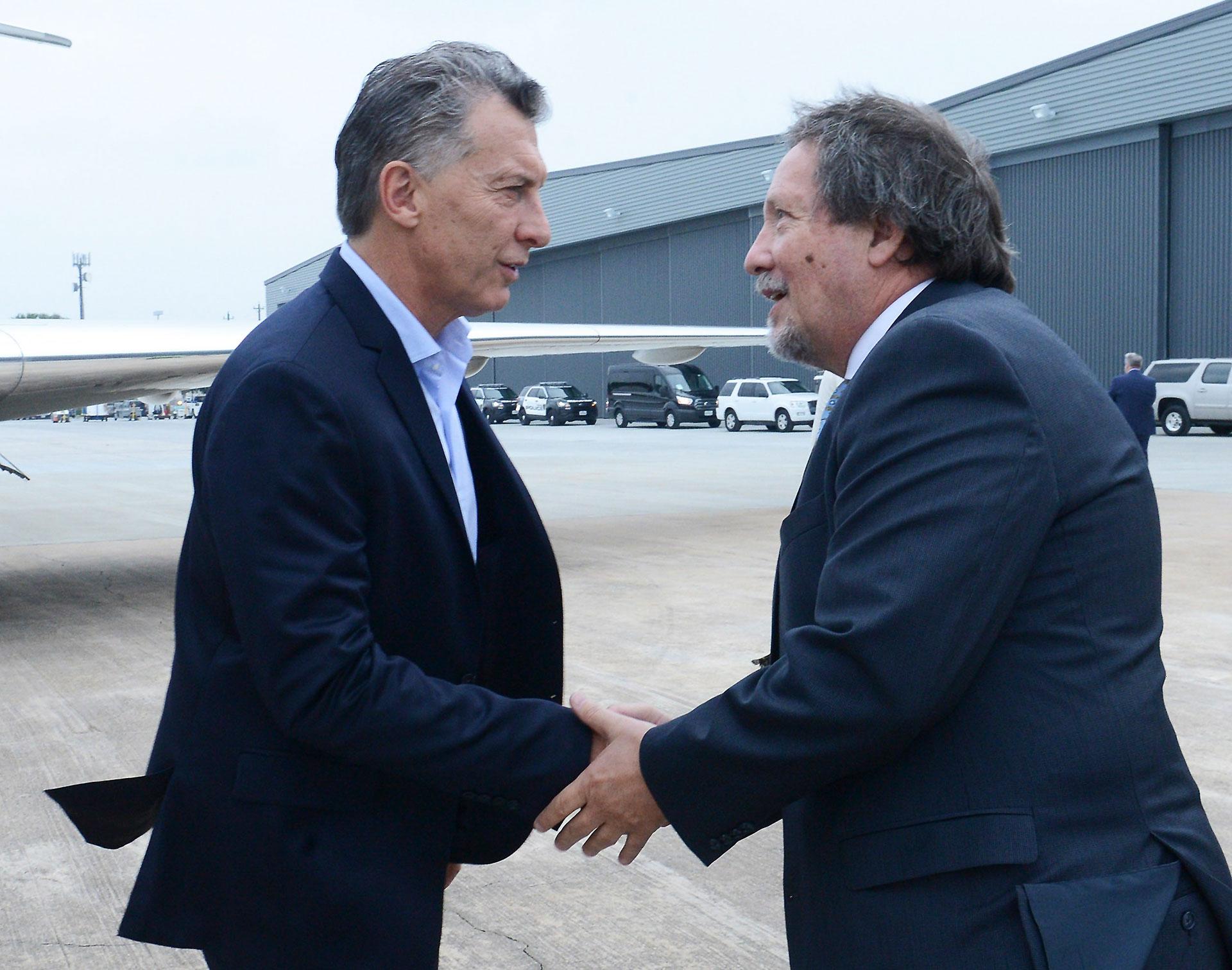 Macri se reunió con Trump
