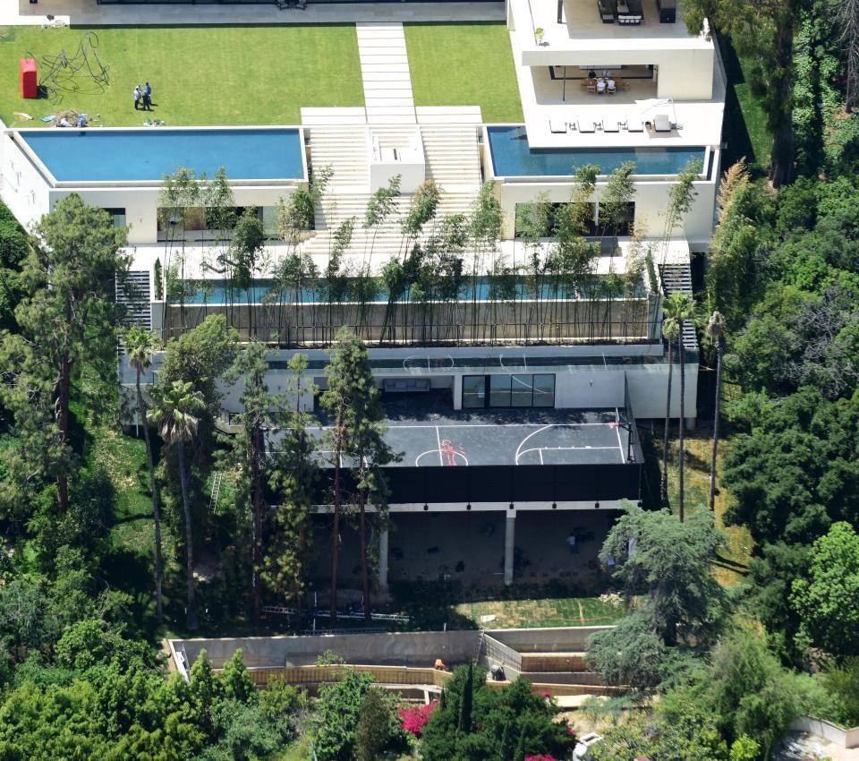 La enorme casa acogerá a la familia de Beyonce, de 35 años, y su esposo el rapero Jay Z quienes se están preparando para la llegada de unos gemelos
