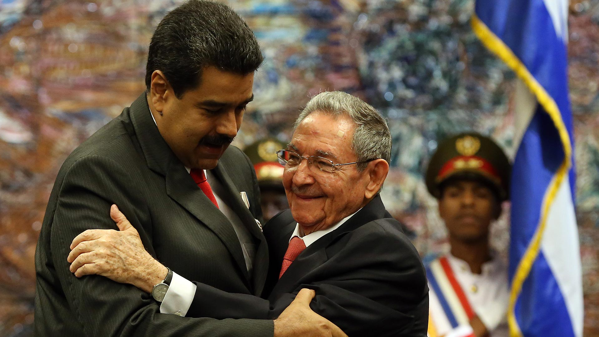 Rangel denunció los vínculos entre Cuba y Venezuela (EFE)