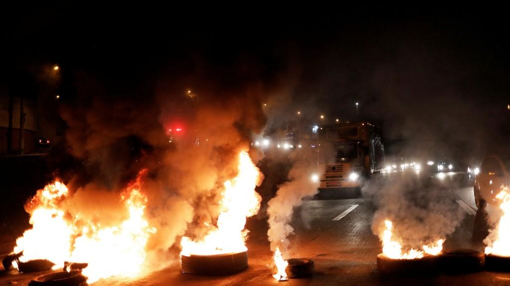 El gobierno sigue de cerca una huelga a la que se sumaron algunos de sus aliados, como Paulo Pereira da Silva, presidente de la central Força Sindical (Reuters)