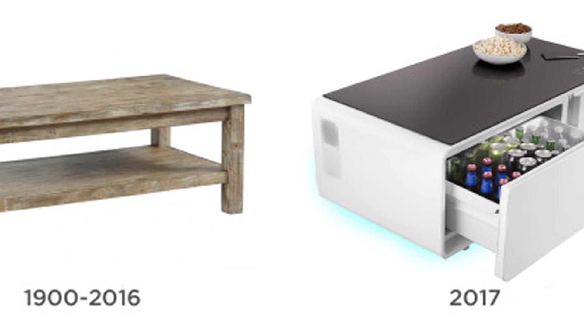 La mesa futurista que marca una nueva tendencia en el - Muebles inteligentes ...