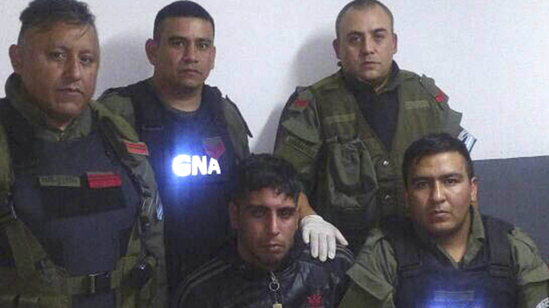 Tras permanecer prófugo Badaracco fue detenido por Gendarmería en cercanías de la villa 1.11.14 (NA)