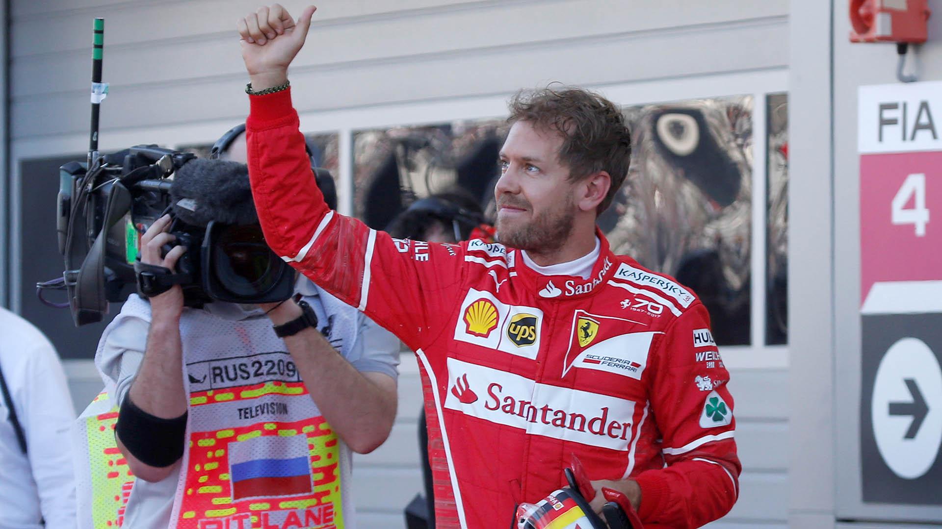 Sebastian Vettel, líder del Mundial(REUTERS)