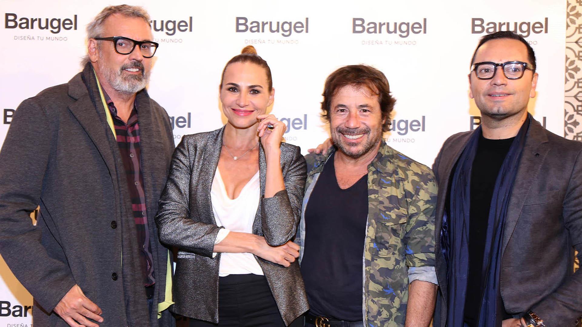 Benito Fernández, Natalia Lobo, Ricky Sarkany y Fabián Medina Flores