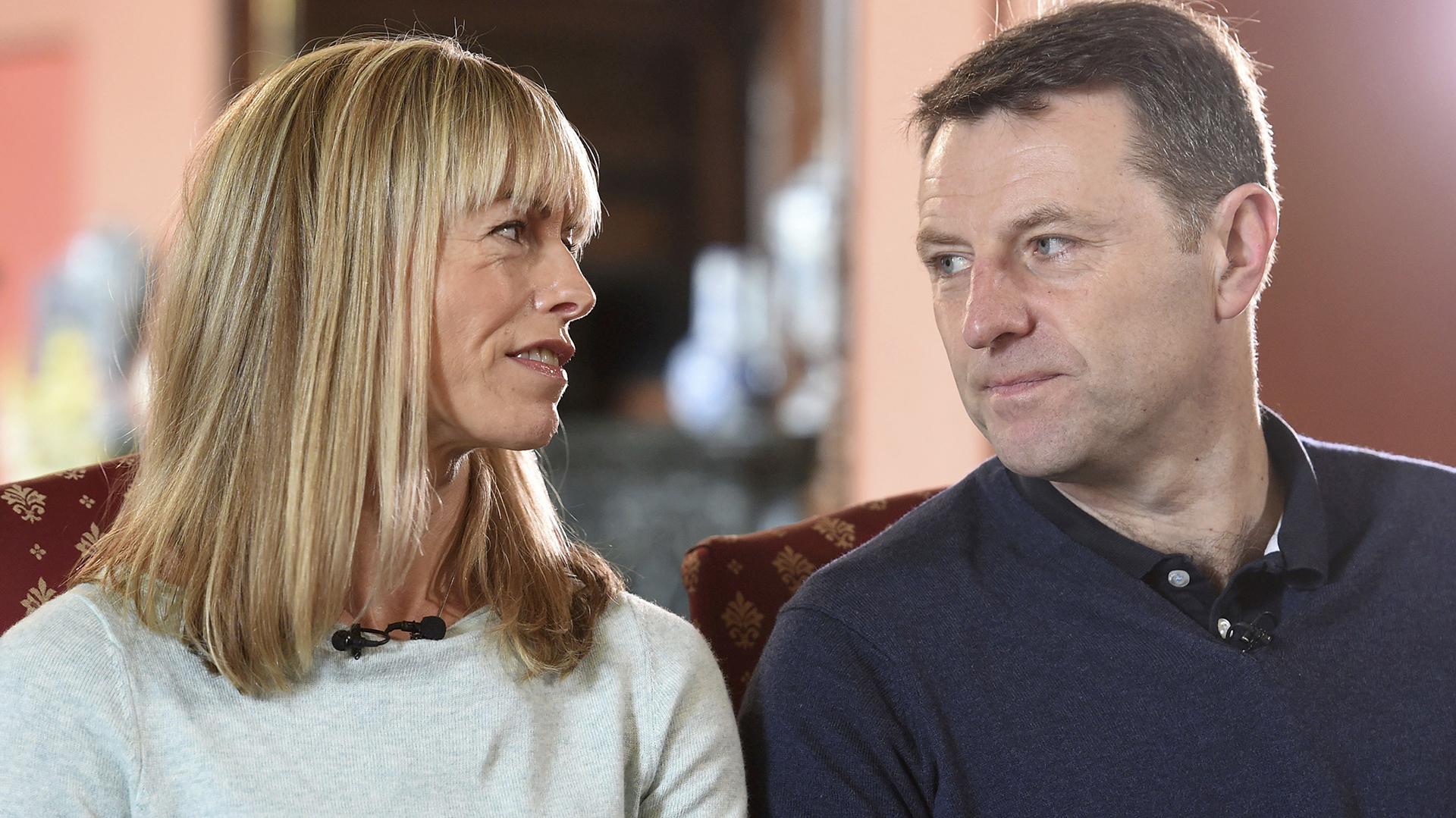 Kate y Gerry McCann, los padres de Maddie (AP)