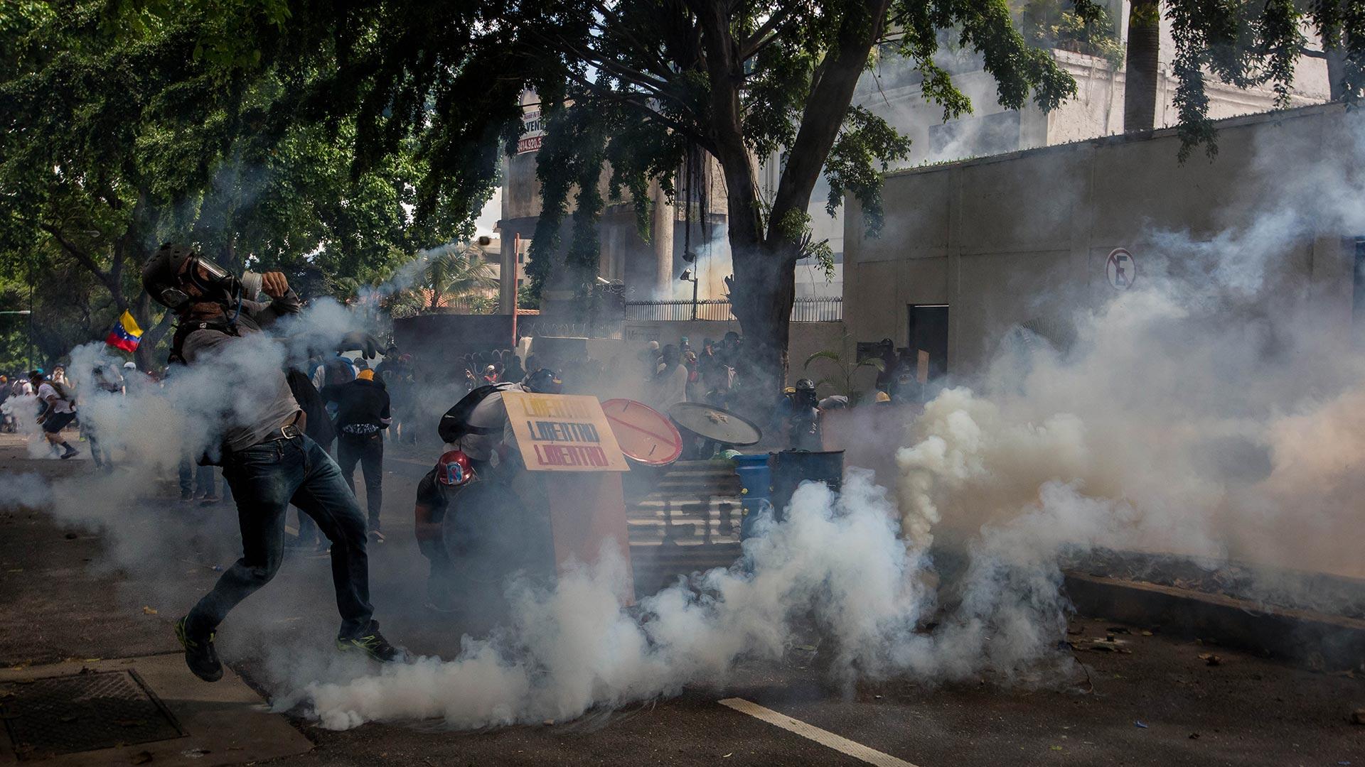 Más de 150 fueron asesinadas por la represión del régimen de Nicolás Maduro a las protestas sociales que coparon las calles de Caracas entre abril y junio
