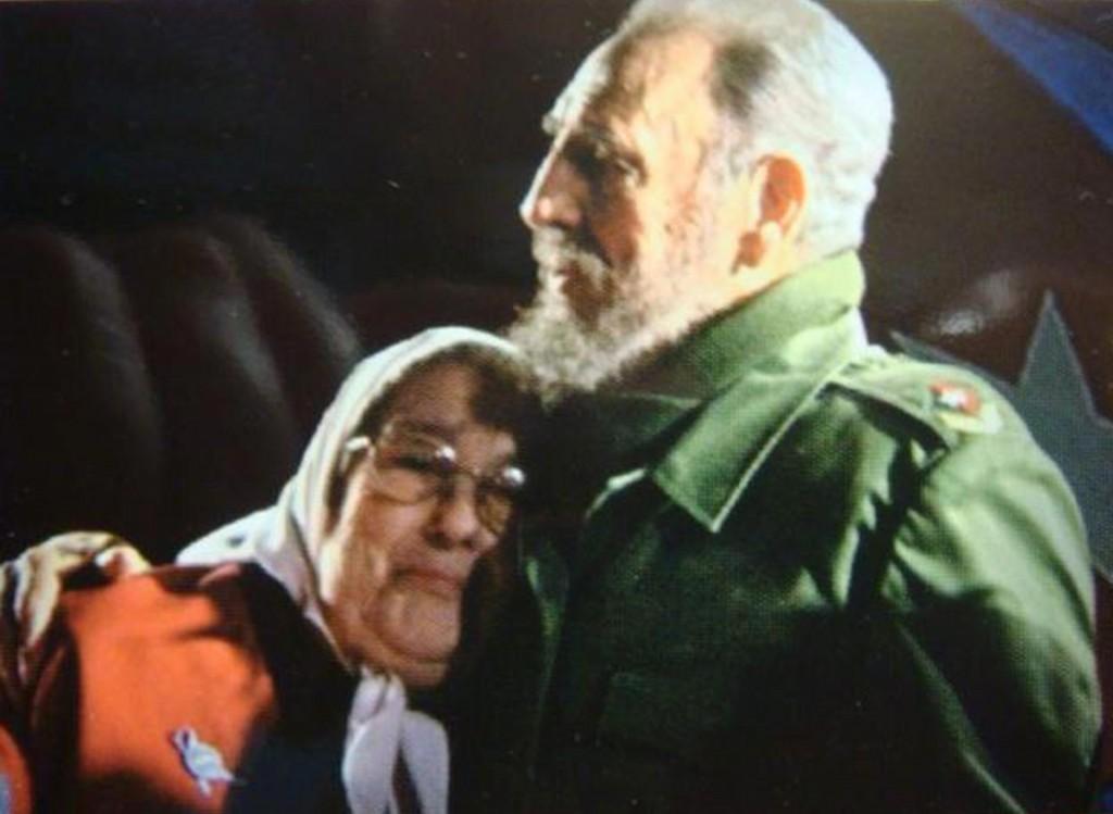 Hebe-de-Bonafini-Fidel-Castro