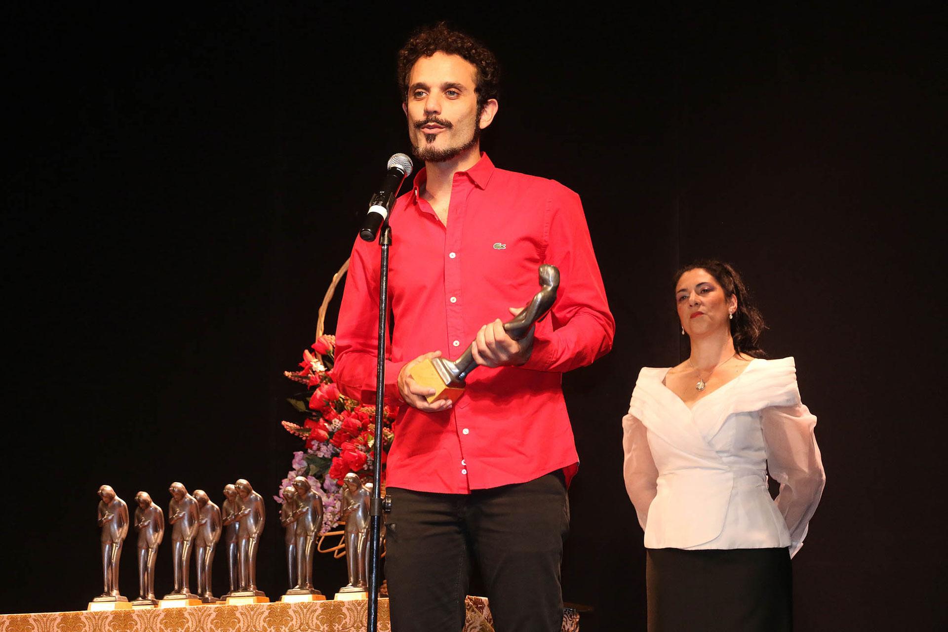 """Mariano Mazzei ganó una distinción por su interpretación en la obra """"Sola no eres nadie"""""""