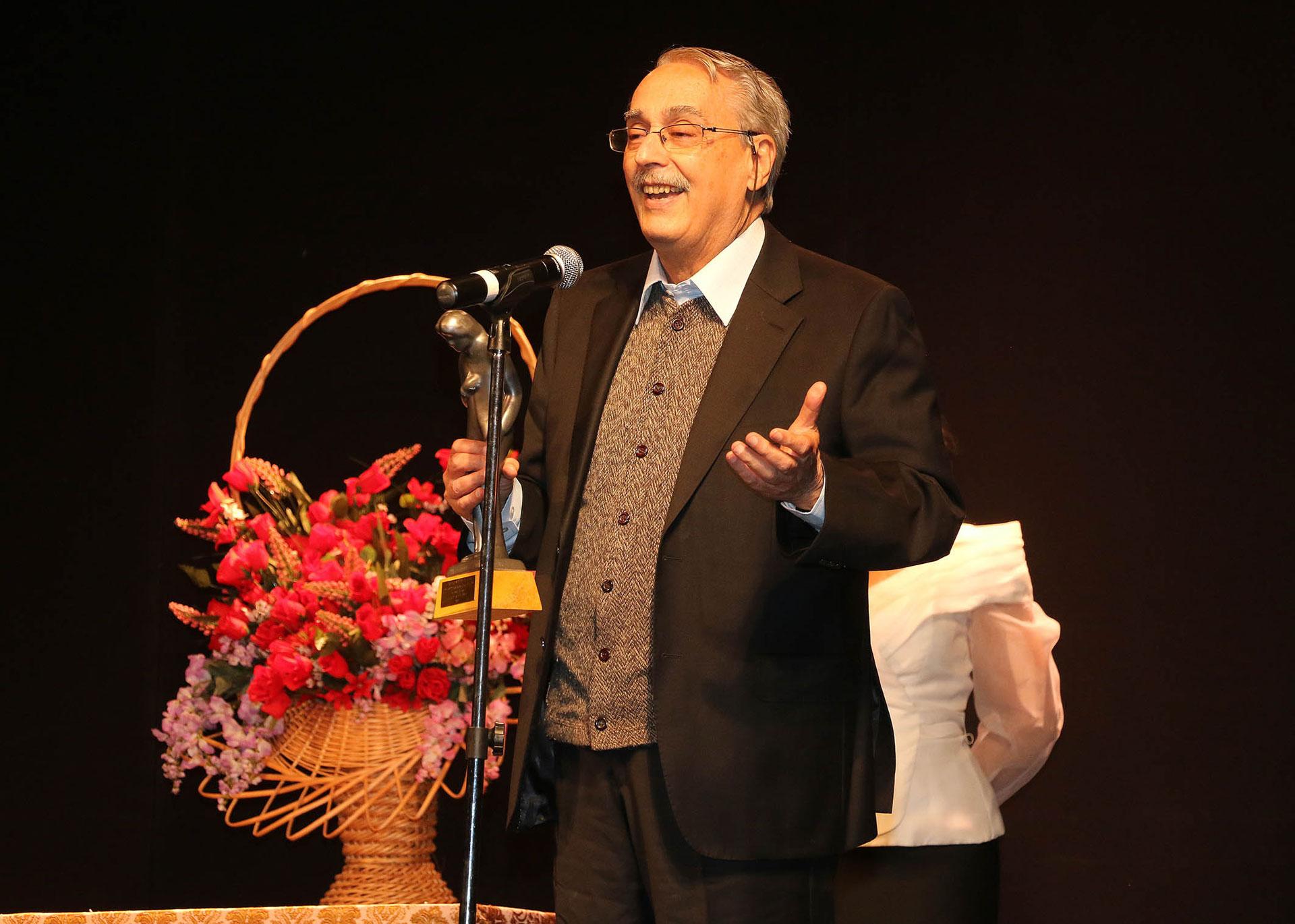 Raúl Serrano fue reconocido por su trayectoria