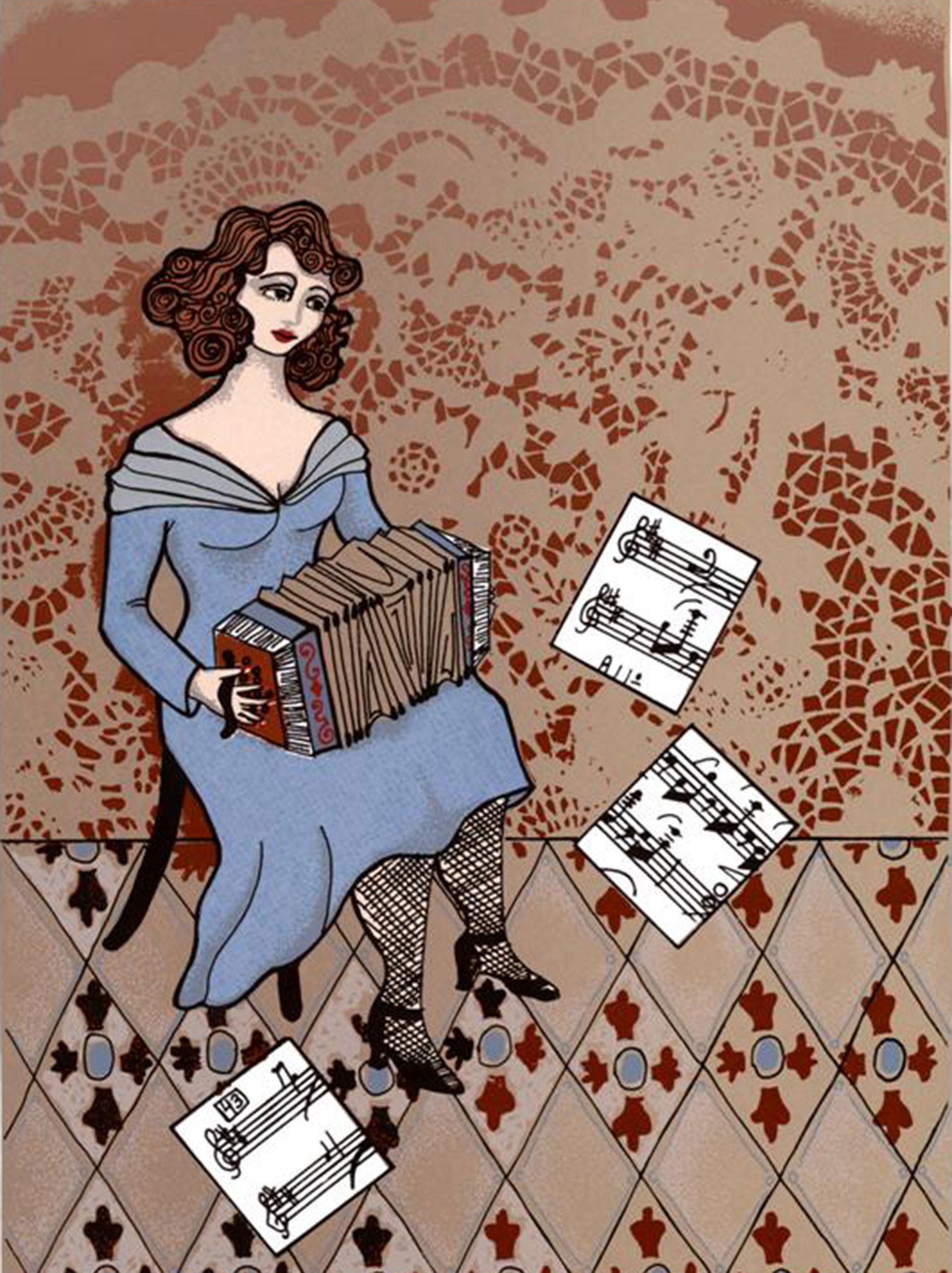Paquita Bernardo vivió 25 años y fue la creadora de la primera orquesta de tango que integró Osvaldo Pugliese
