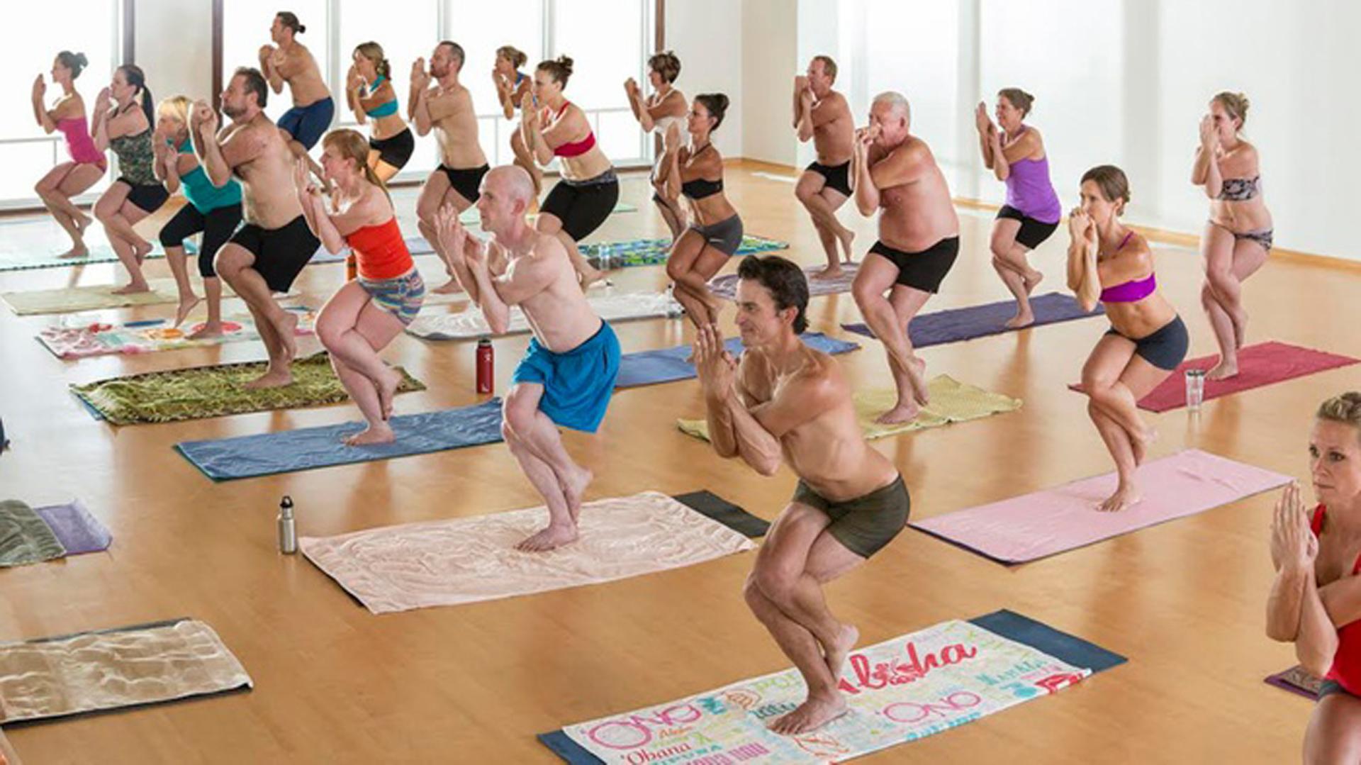 A la mierda un instructor de yoga