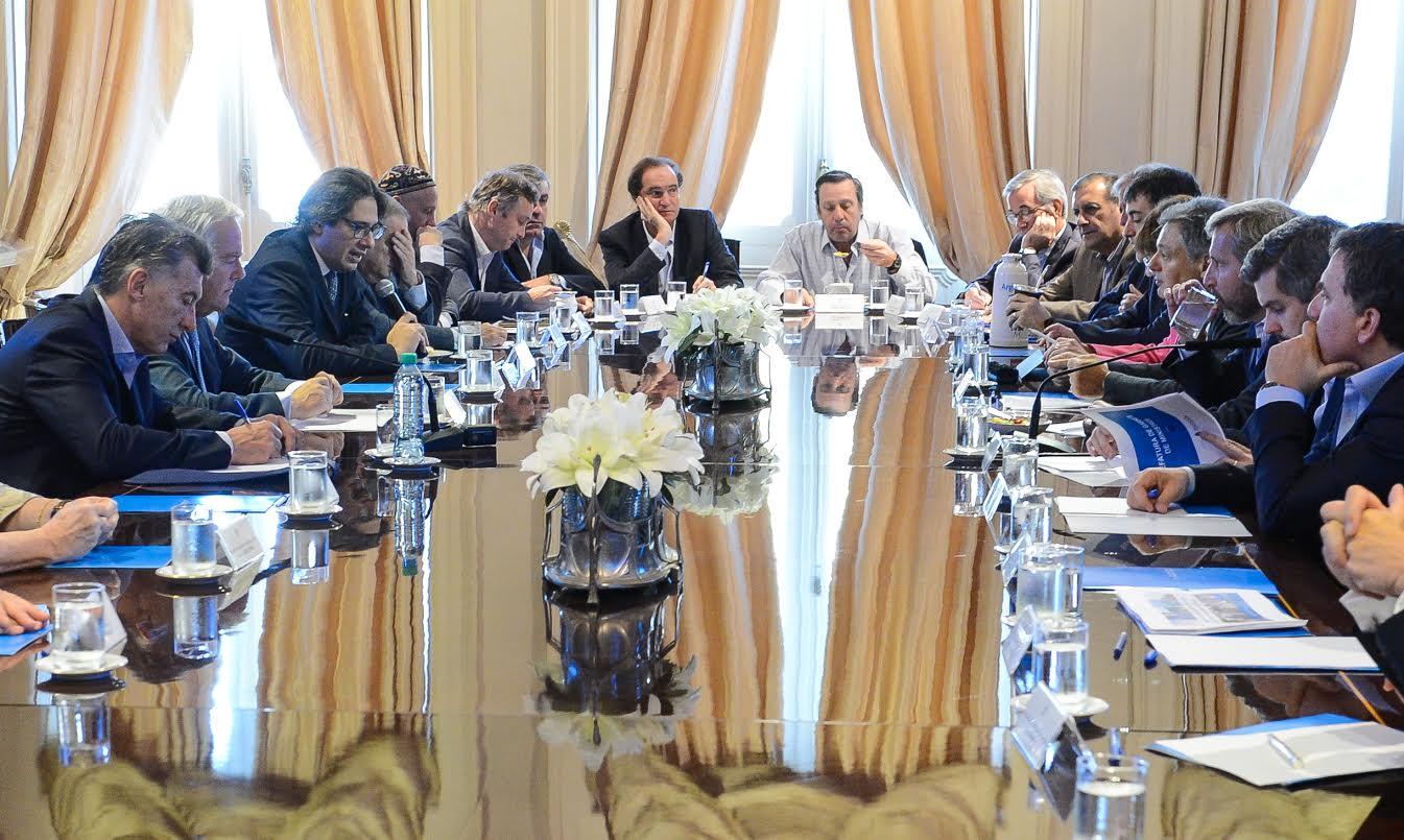 El Gabinete se reunió este martes en Casa Rosada